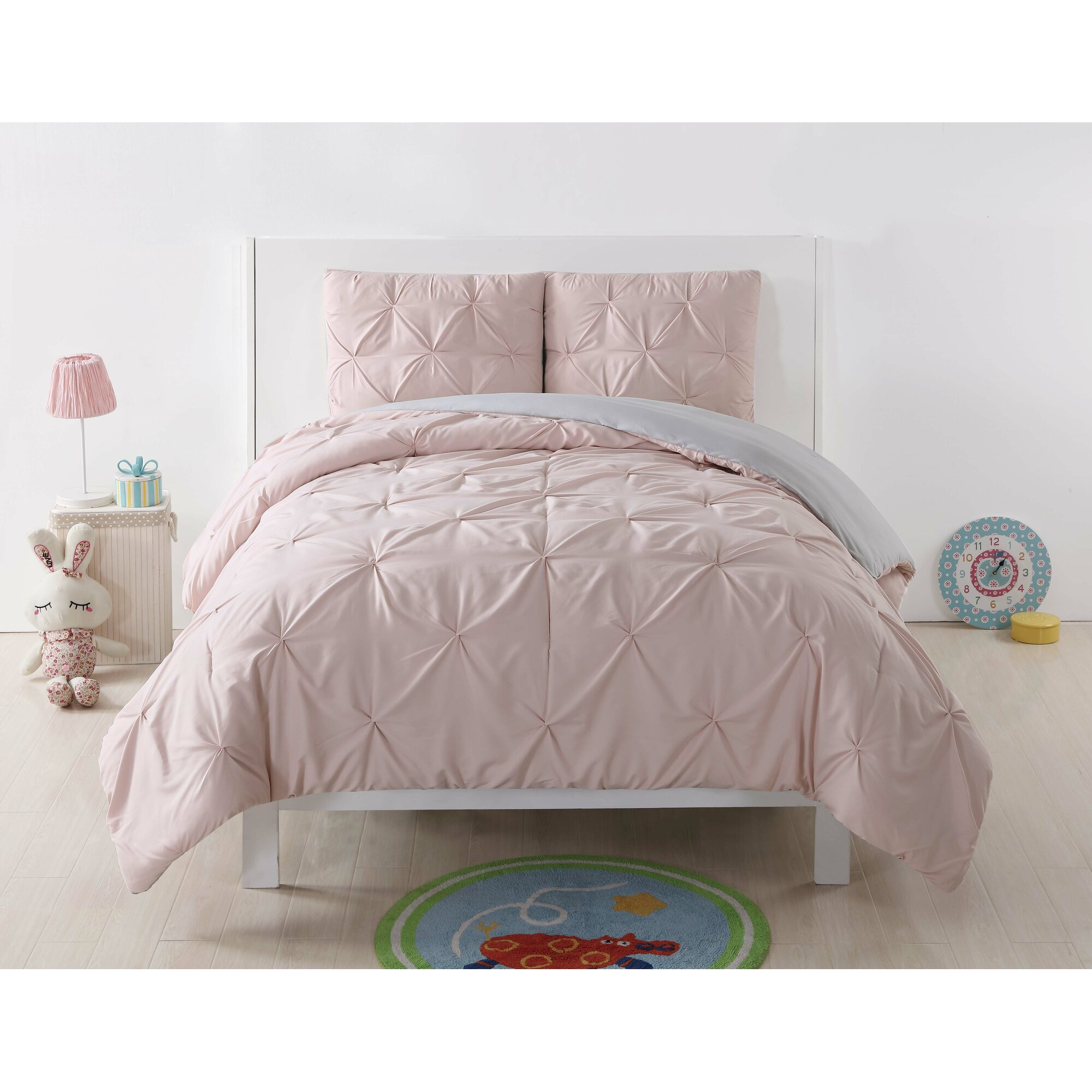 Harriet Bee Rollins 3 Piece Crib Bedding Set: Harriet Bee Talon Comforter Set & Reviews