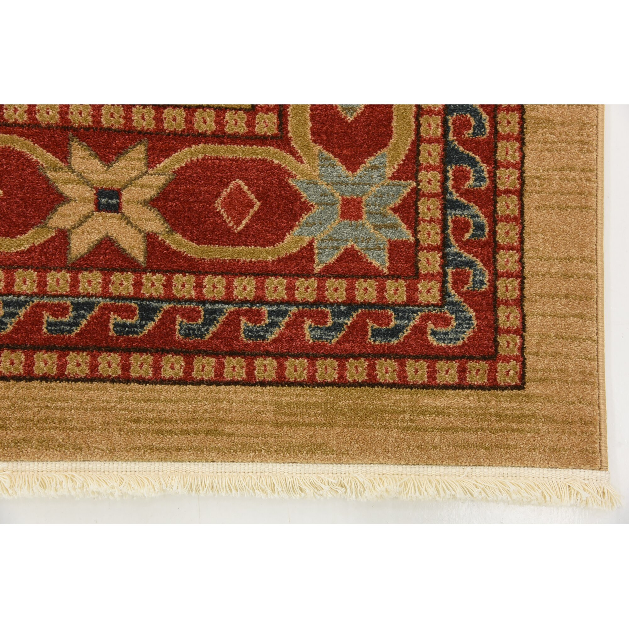 World Menagerie Valley Light Brown Area Rug Amp Reviews