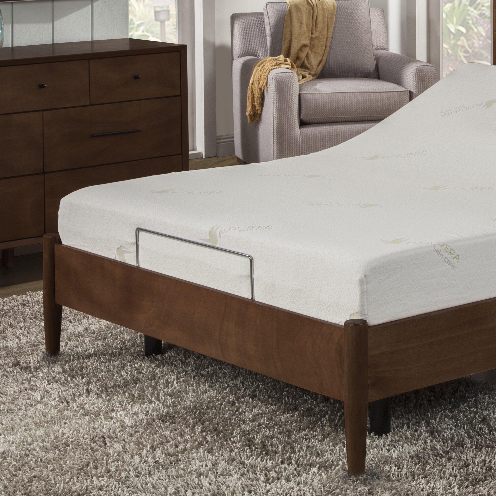 "Anew Edit 8"" Medium Memory Foam Mattress with Bed Base"
