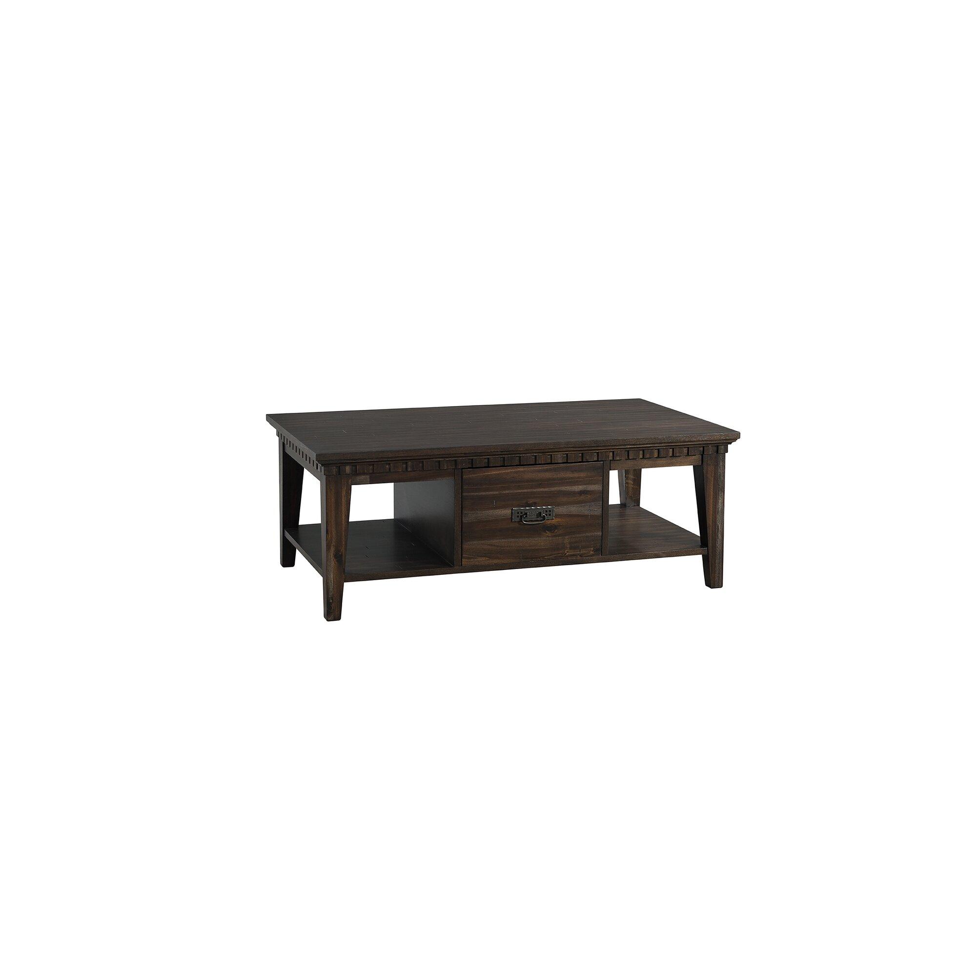 Laurel Foundry Modern Farmhouse Suzann 4 Piece Coffee Table Set