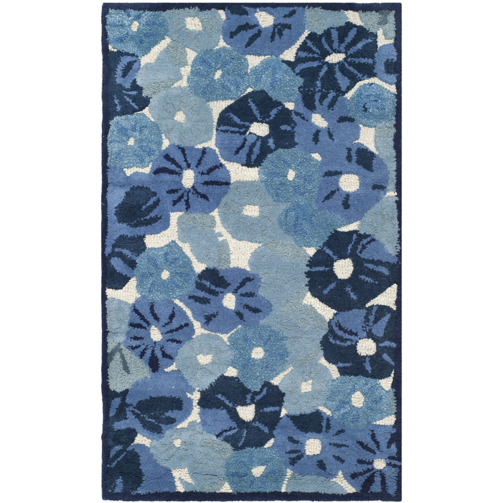 Martha Stewart Rugs Martha Stewart Azurite Blue Area Rug Reviews Wayfair