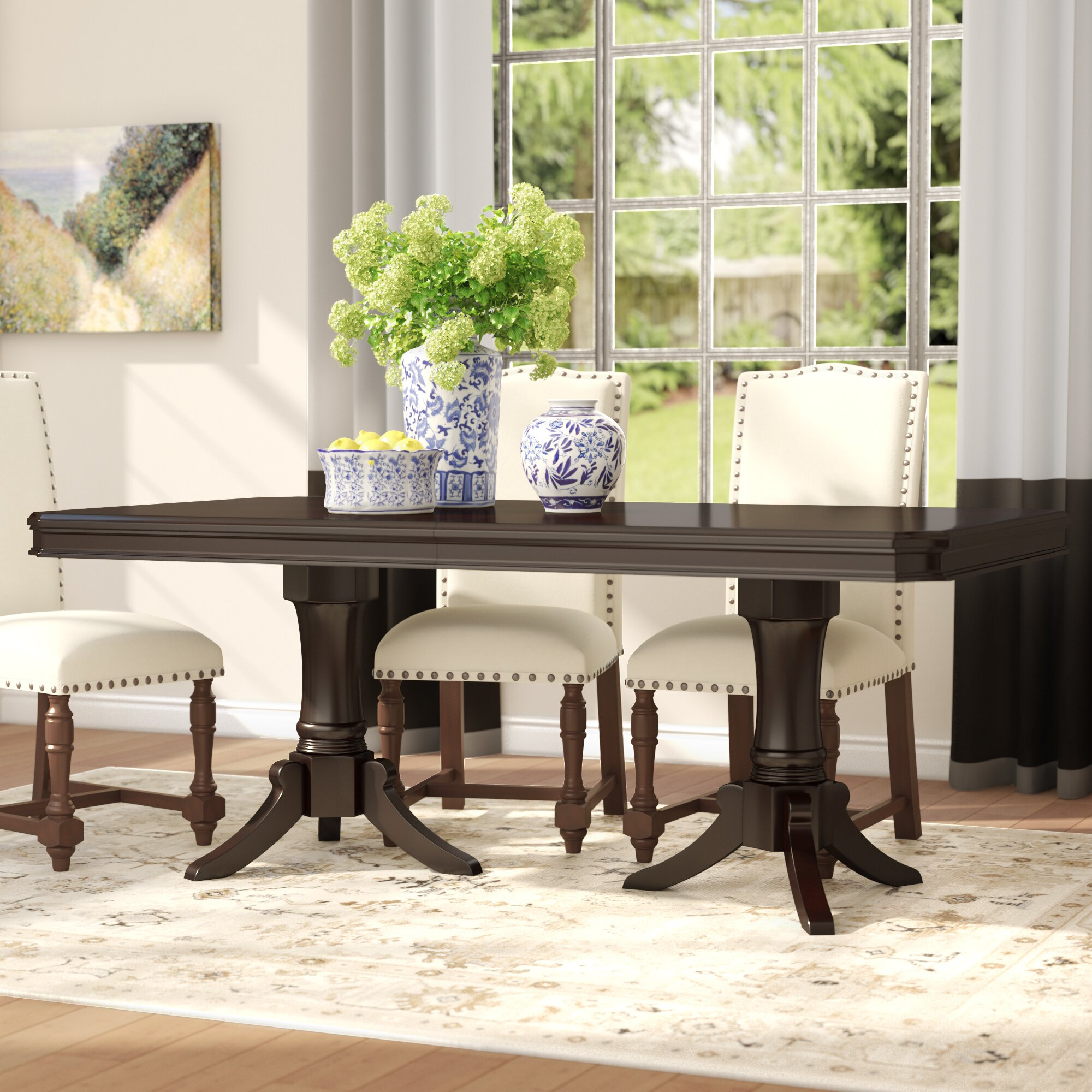Alcott Hill Rheems Extendable Dining Table & Reviews | Wayfair
