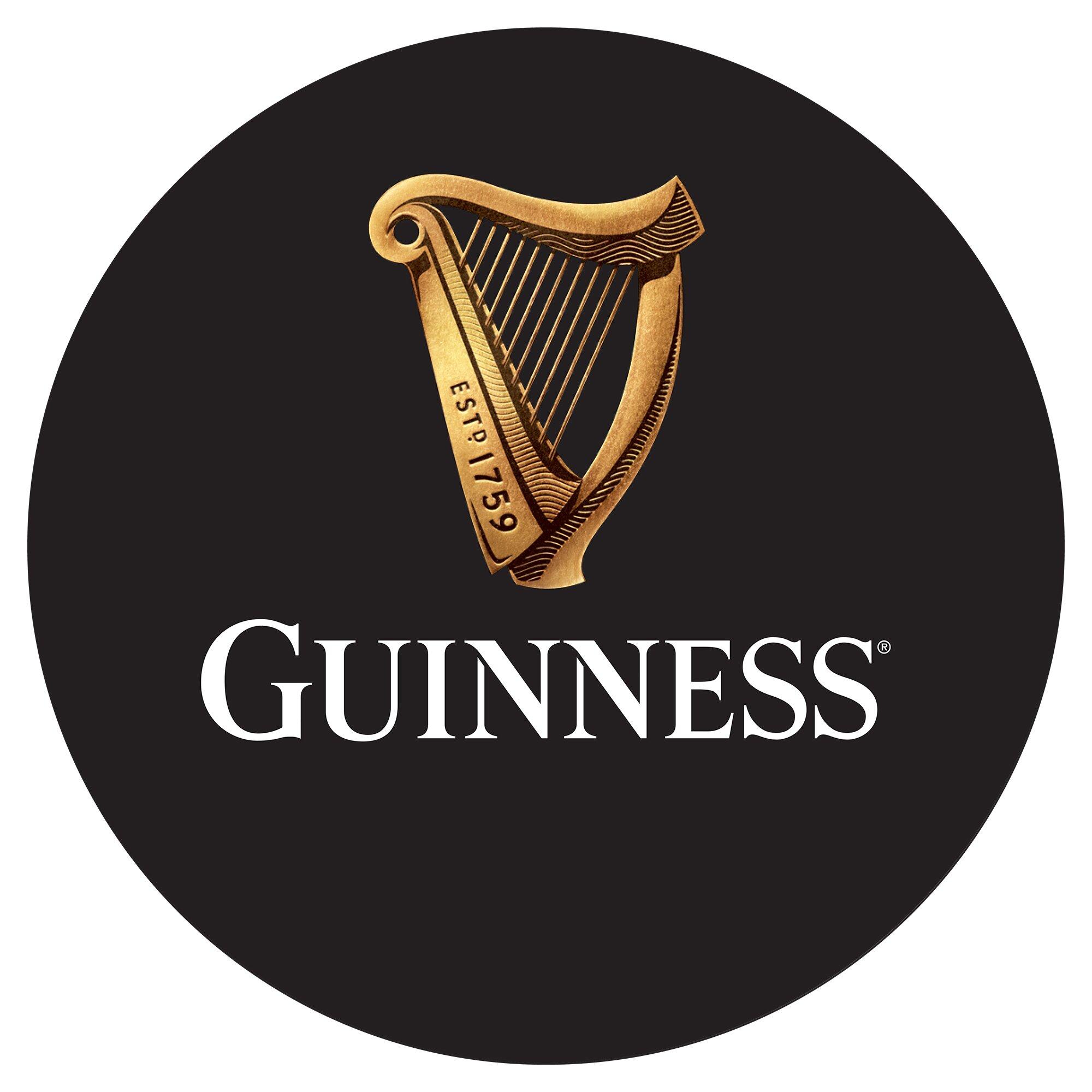 Trademark Global Guinness Wood Swivel Bar Stool With Back