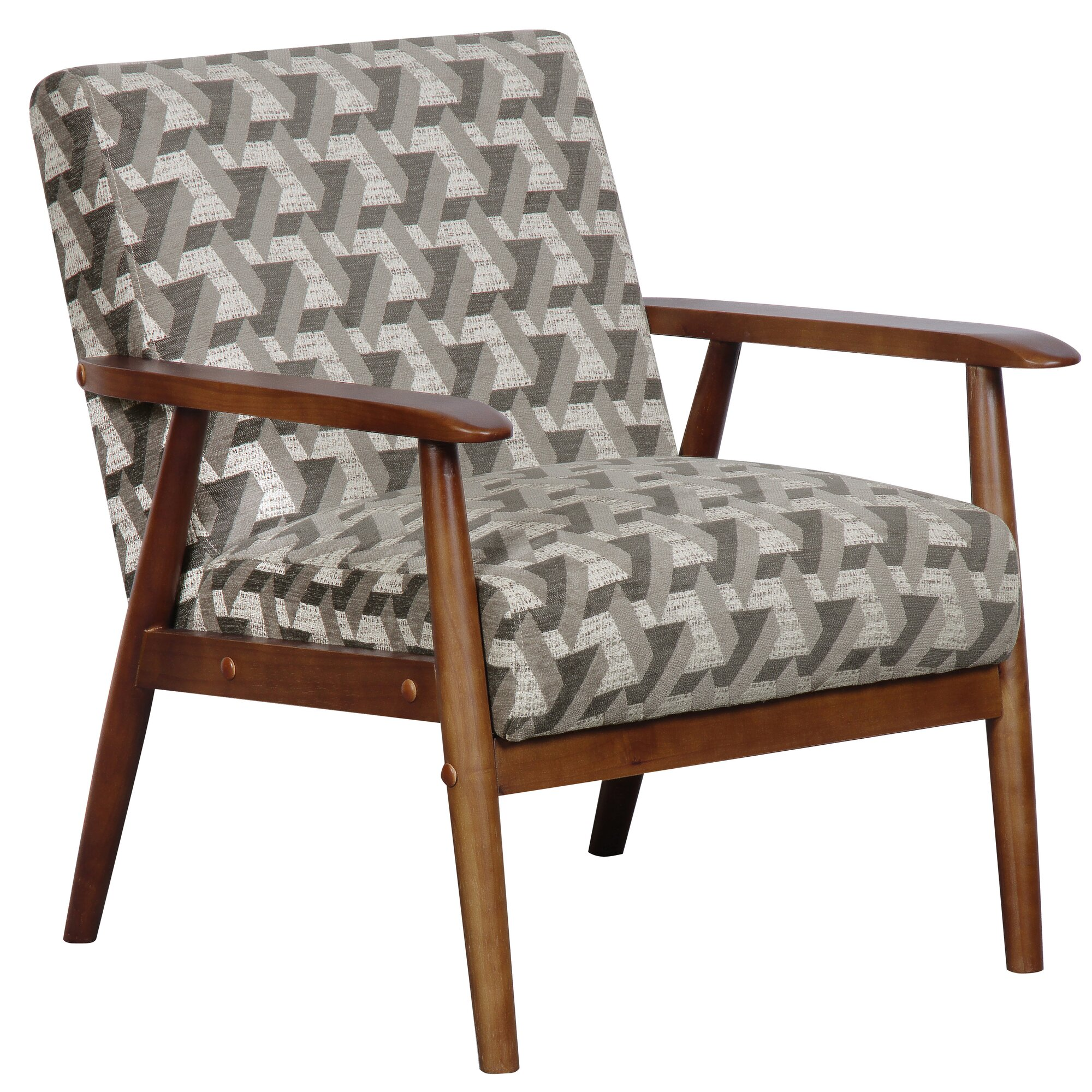 Langley Street Izabella Wood Frame Armchair & Reviews ...