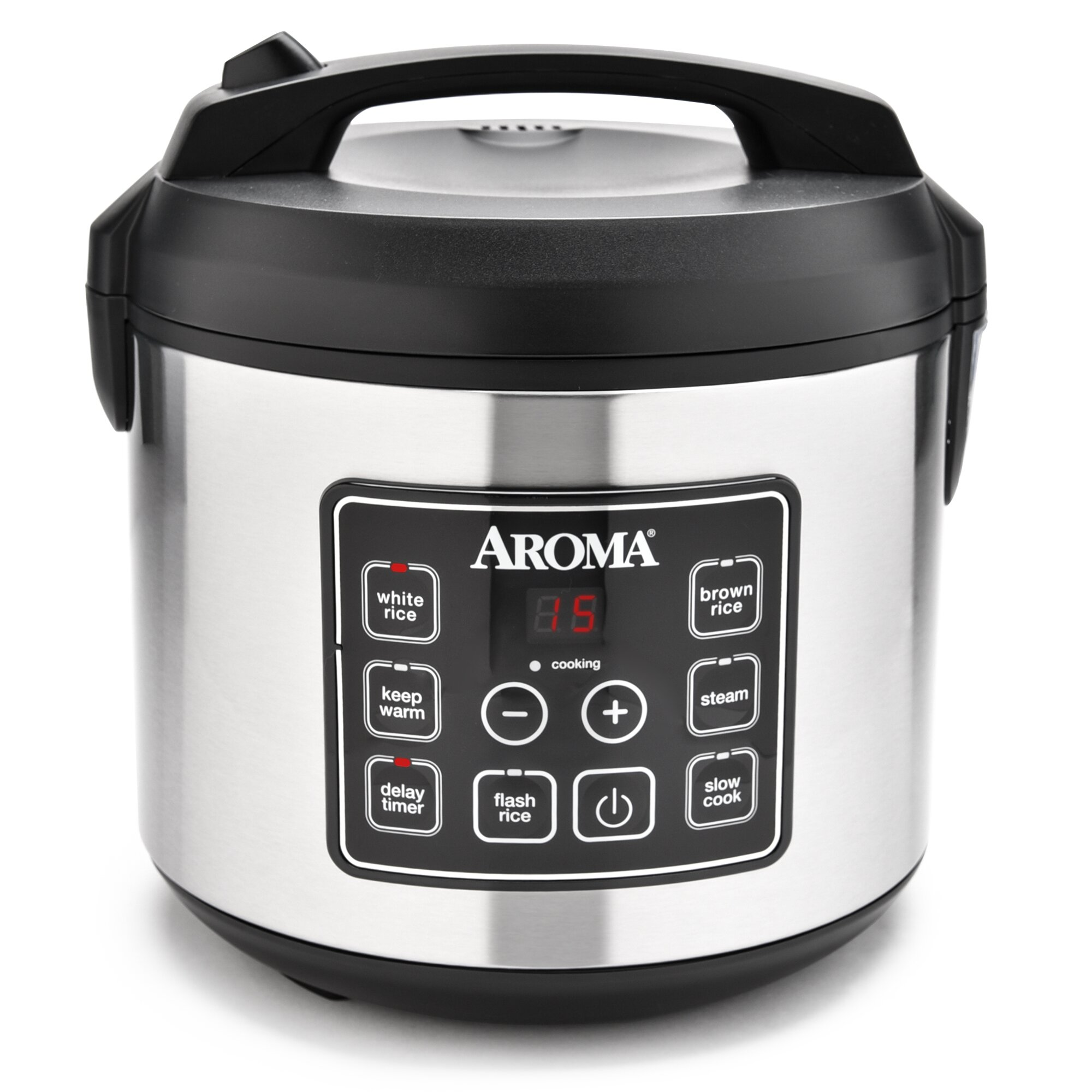 20cup Stainless Steel Digital Slow Cooker, Food Steamer And Rice Cooker Rice  Cooker How To