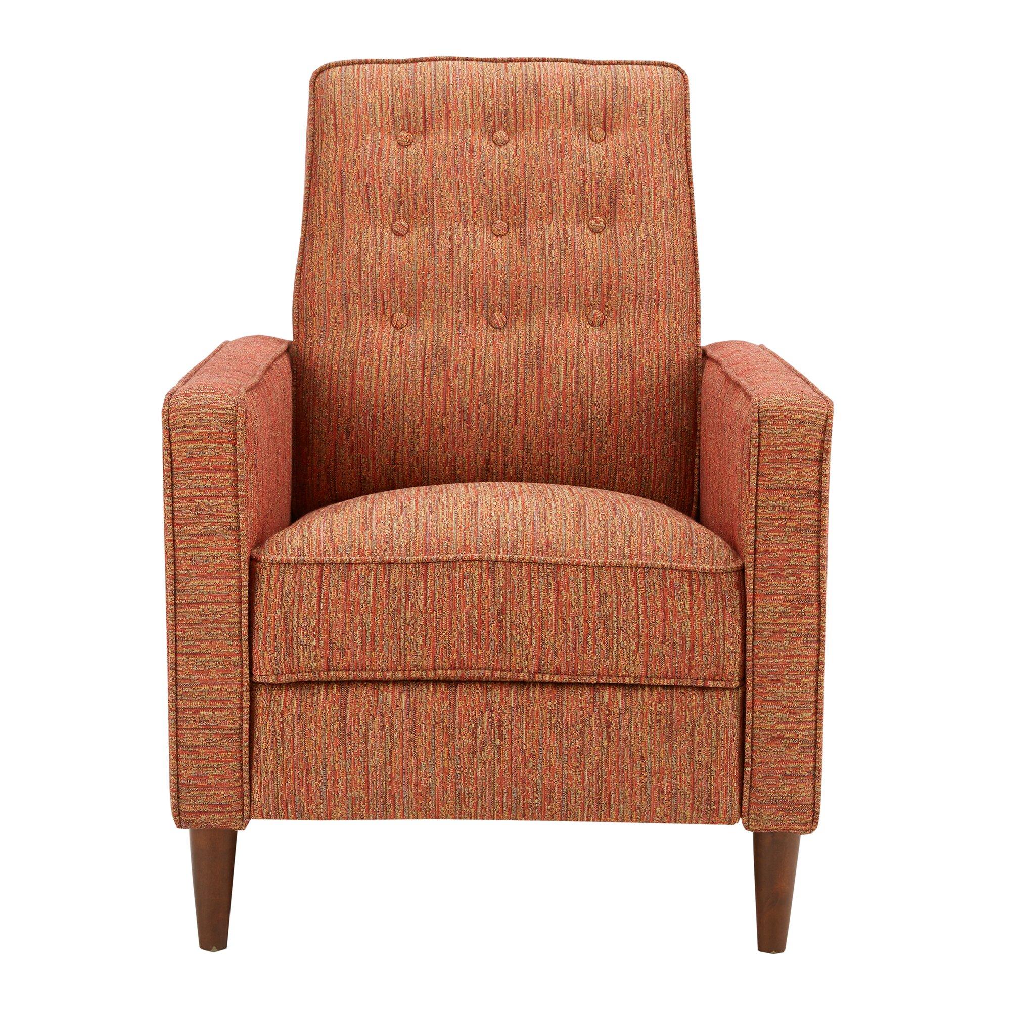 Orange Recliner Chair Instachair