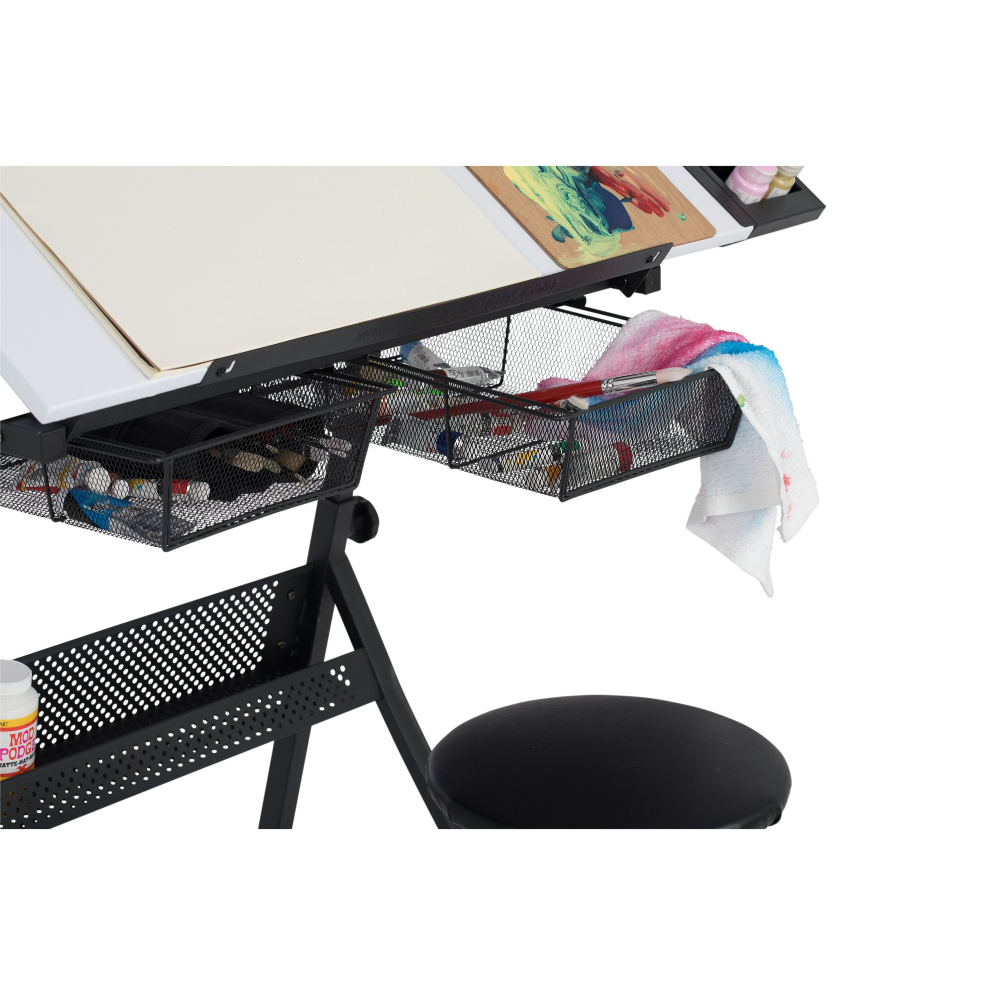 Studio designs fusion craft leaning ladder desk table and for Kids craft table canada