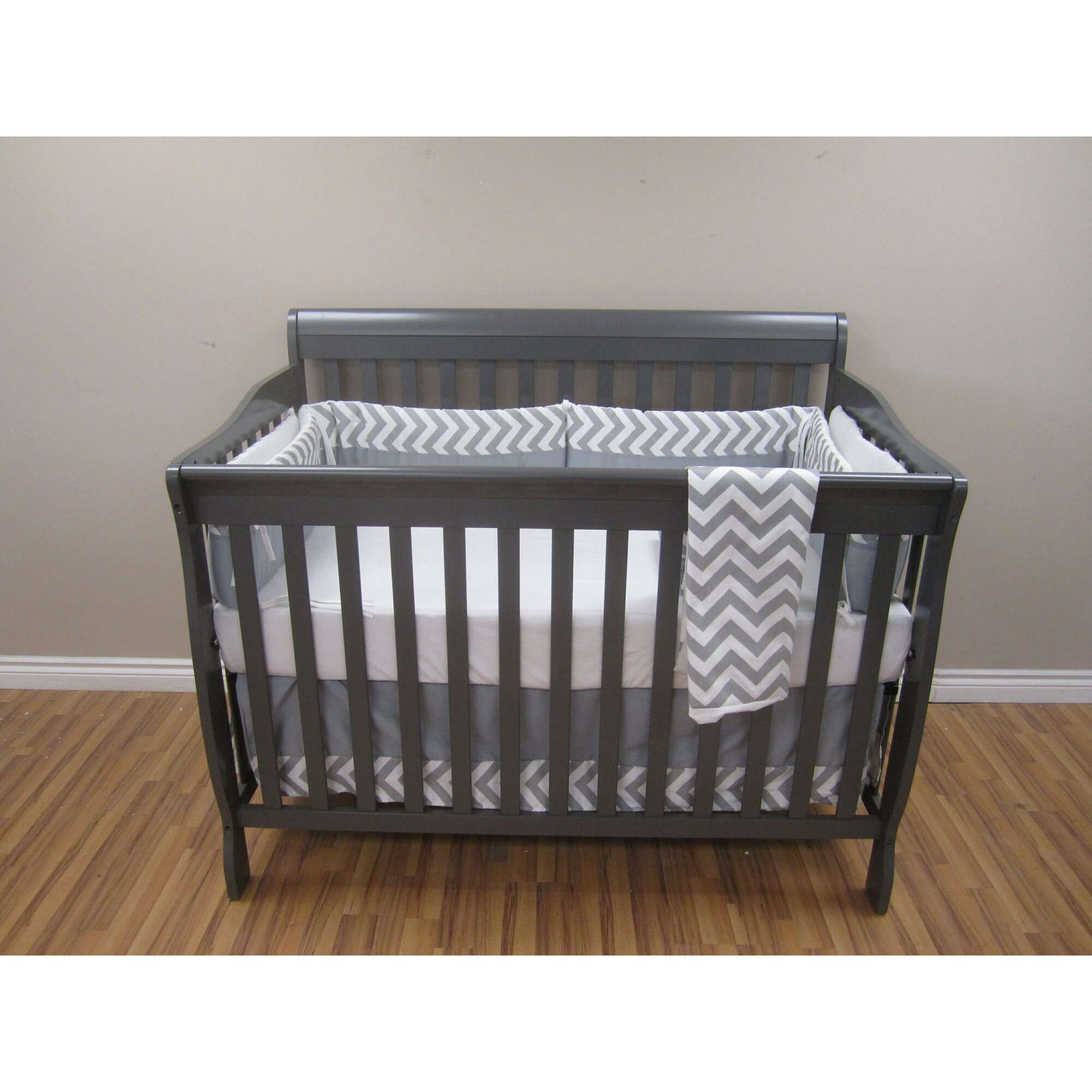 Concord Baby Abby 4 in 1 Convertible Standard Crib with