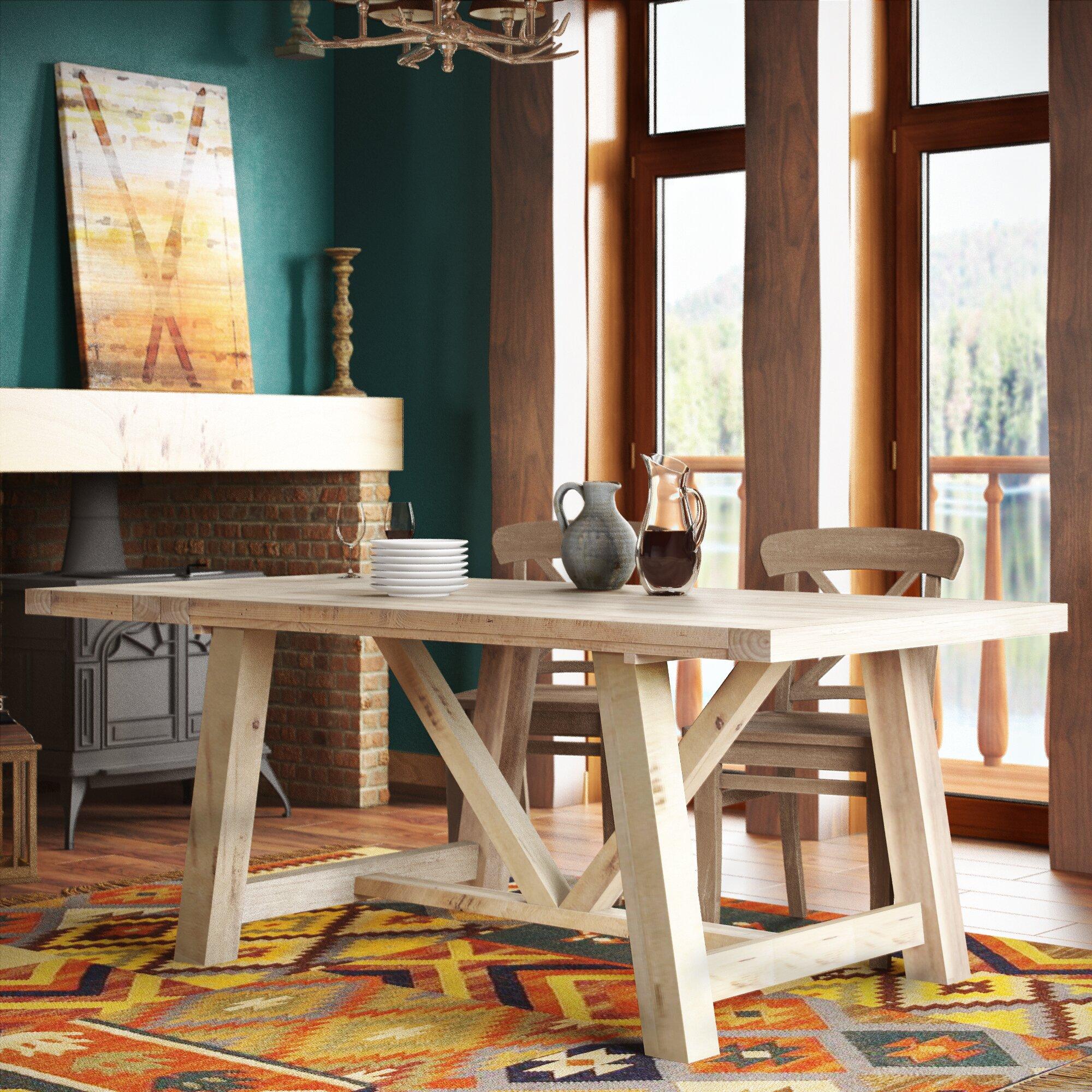 alpenhome ausziehbarer esstisch bearpaw bewertungen. Black Bedroom Furniture Sets. Home Design Ideas