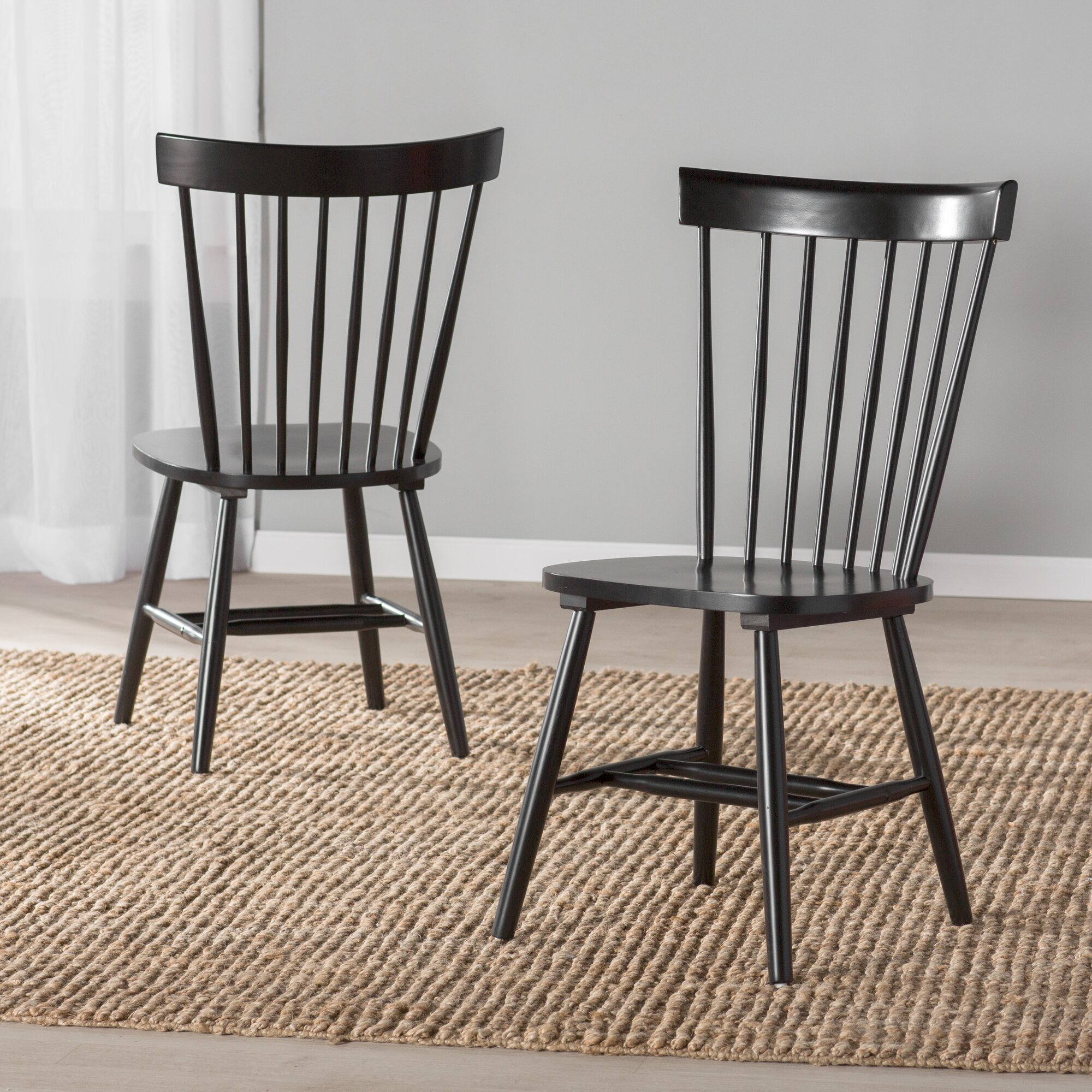 Solid Wood Dining Chairs ~ Breakwater bay benton solid wood dining chair reviews