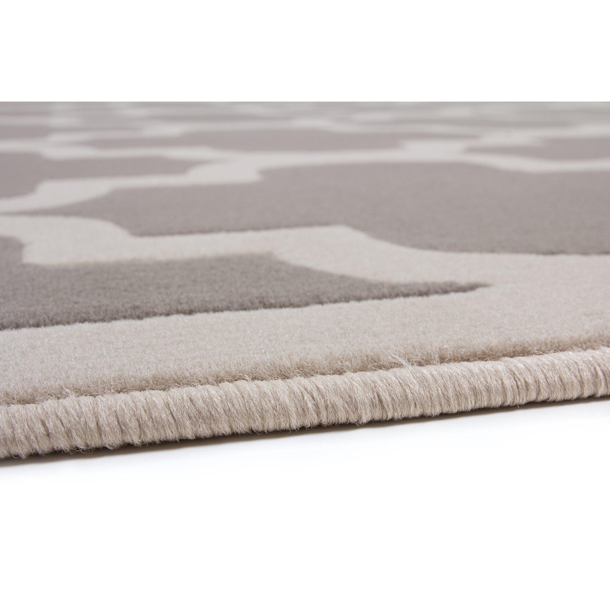 Urban Facettes Teppich Manolya in Silber & Bewertungen