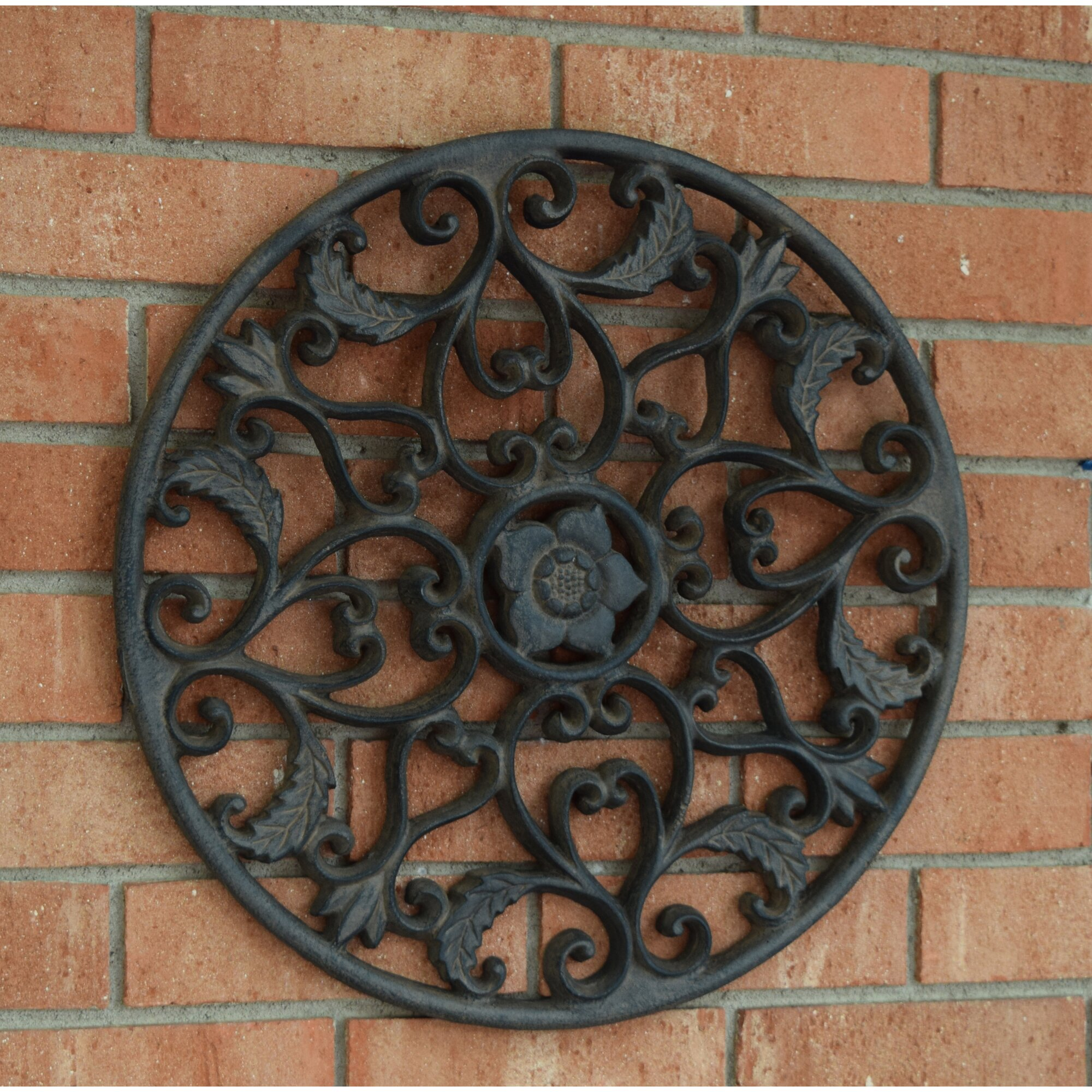 Hickory Manor House Outdoor Open Leaf Wall Decor