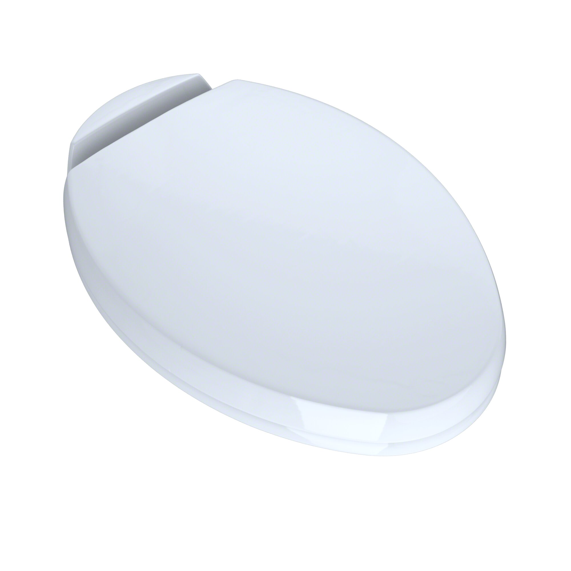 Toto SoftClose Elongated Beveled Lid Toilet Seat  Reviews Wayfair - Oak toilet seat soft close