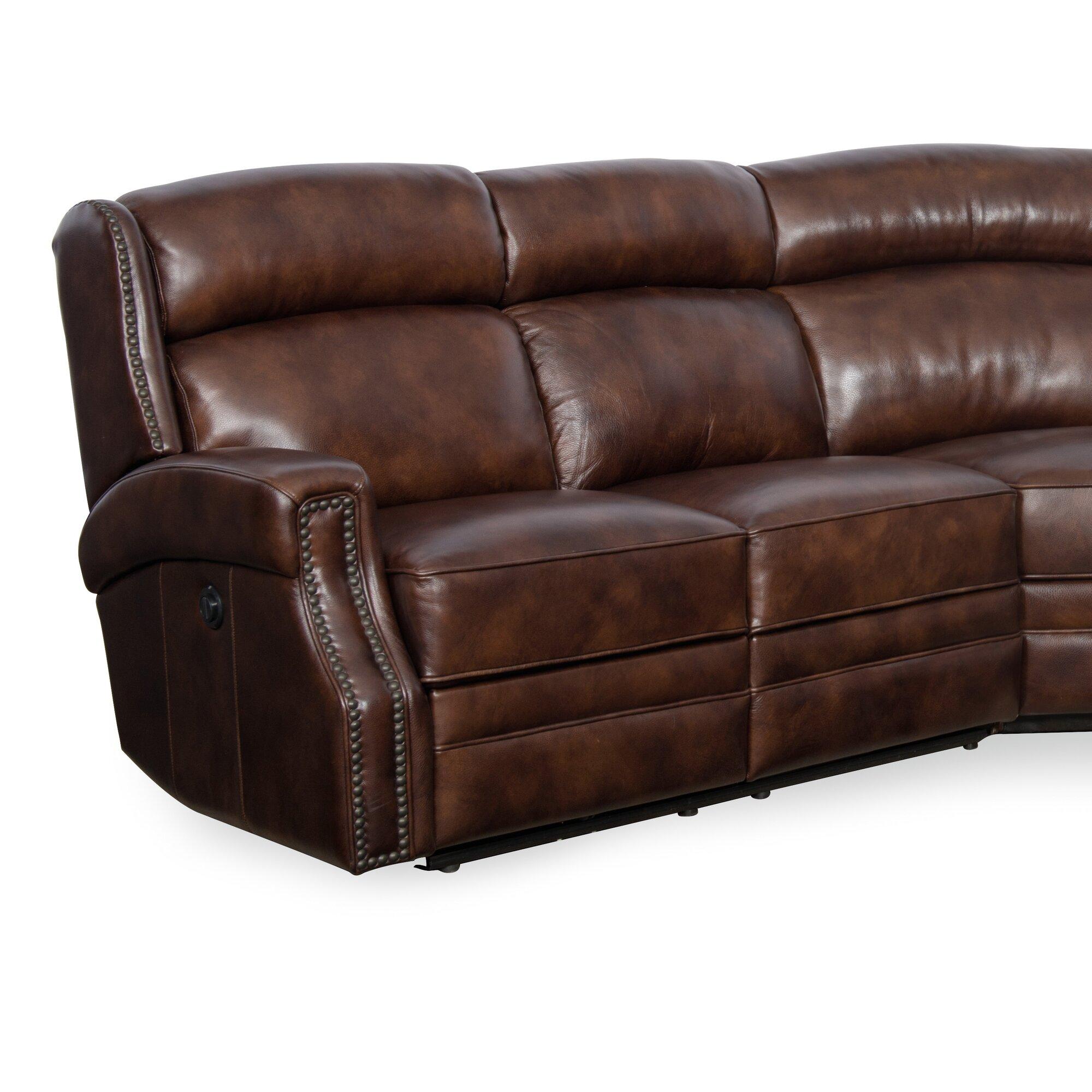 Hooker Furniture Carlisle Leather Laf Power Motion