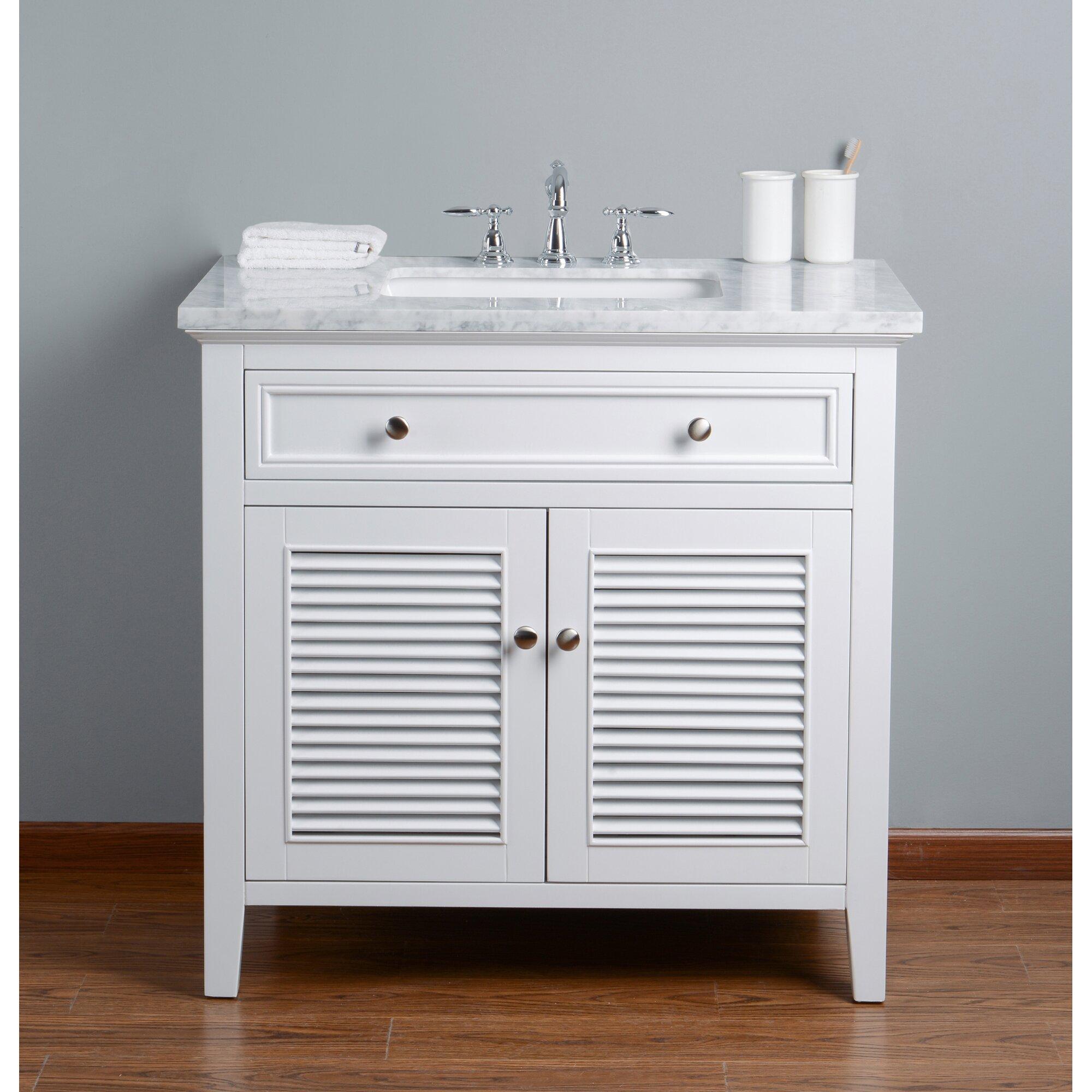 """Longshore Tides Gowan 36"""" Single Bathroom Vanity Set"""
