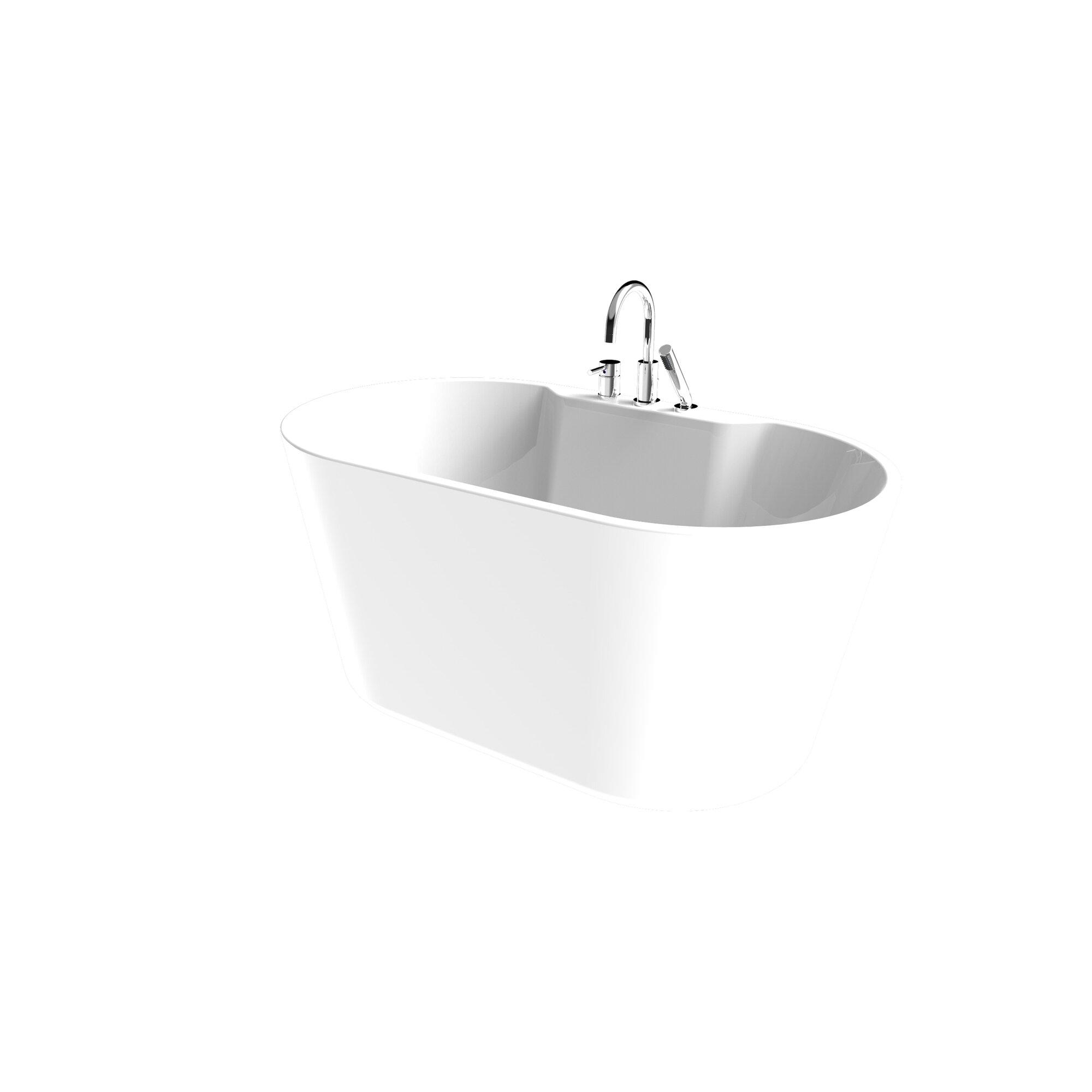 "A&E Bath And Shower 56"" X 31.5"" Bathtub & Reviews"