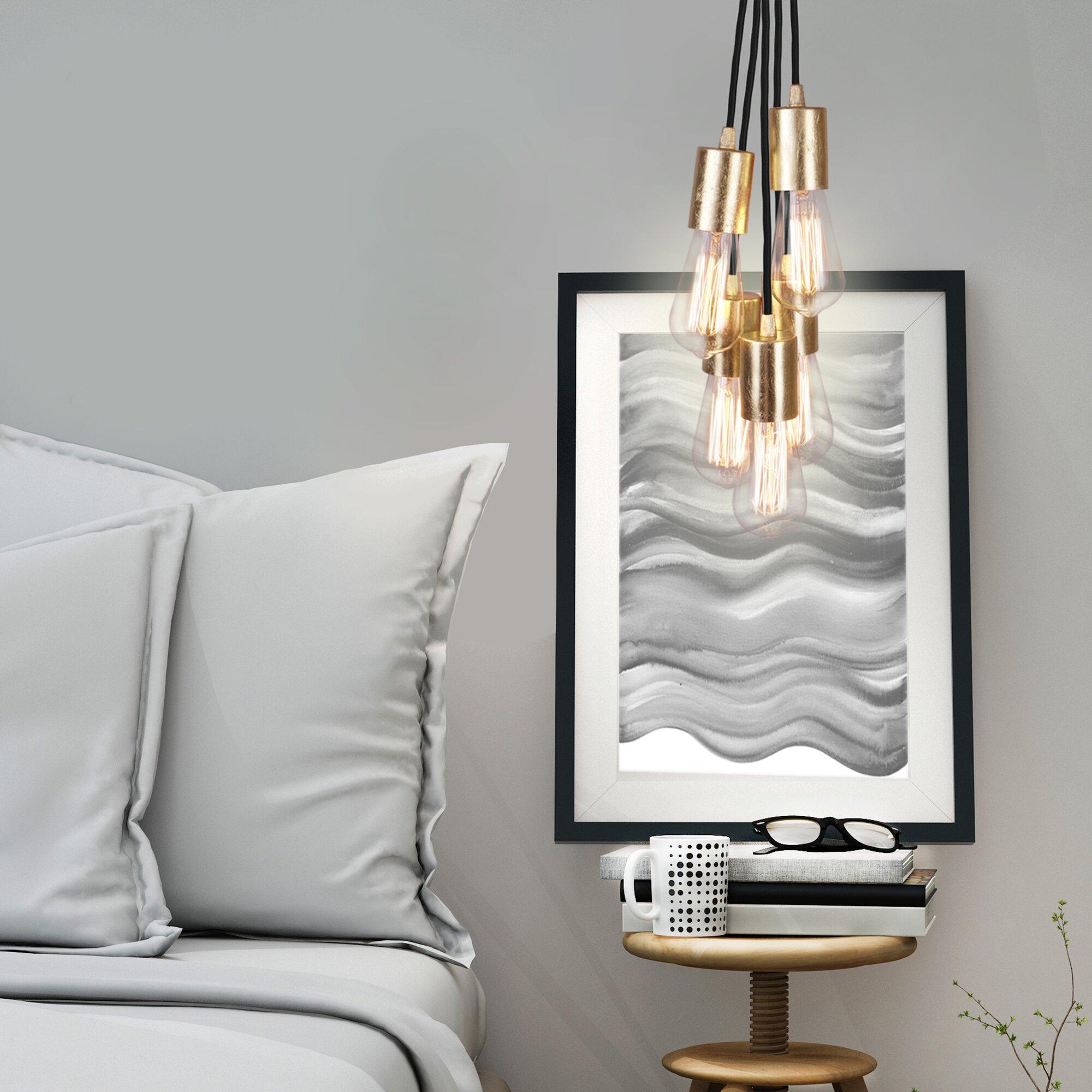 modernmoments kaskaden pendelleuchte 5 flammig cero bewertungen. Black Bedroom Furniture Sets. Home Design Ideas