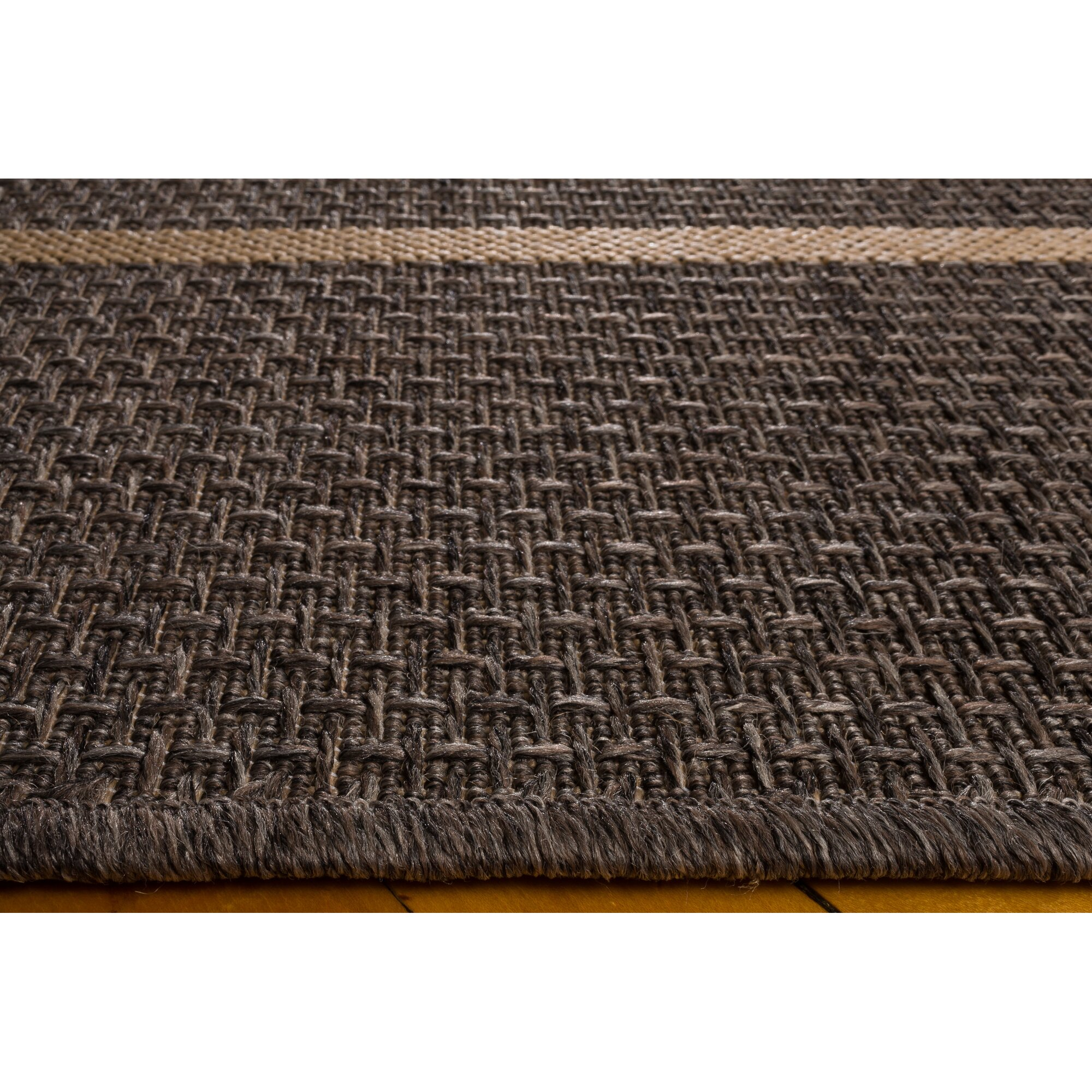 Union rustic annica grey indoor outdoor area rug for Landscape indoor area rug