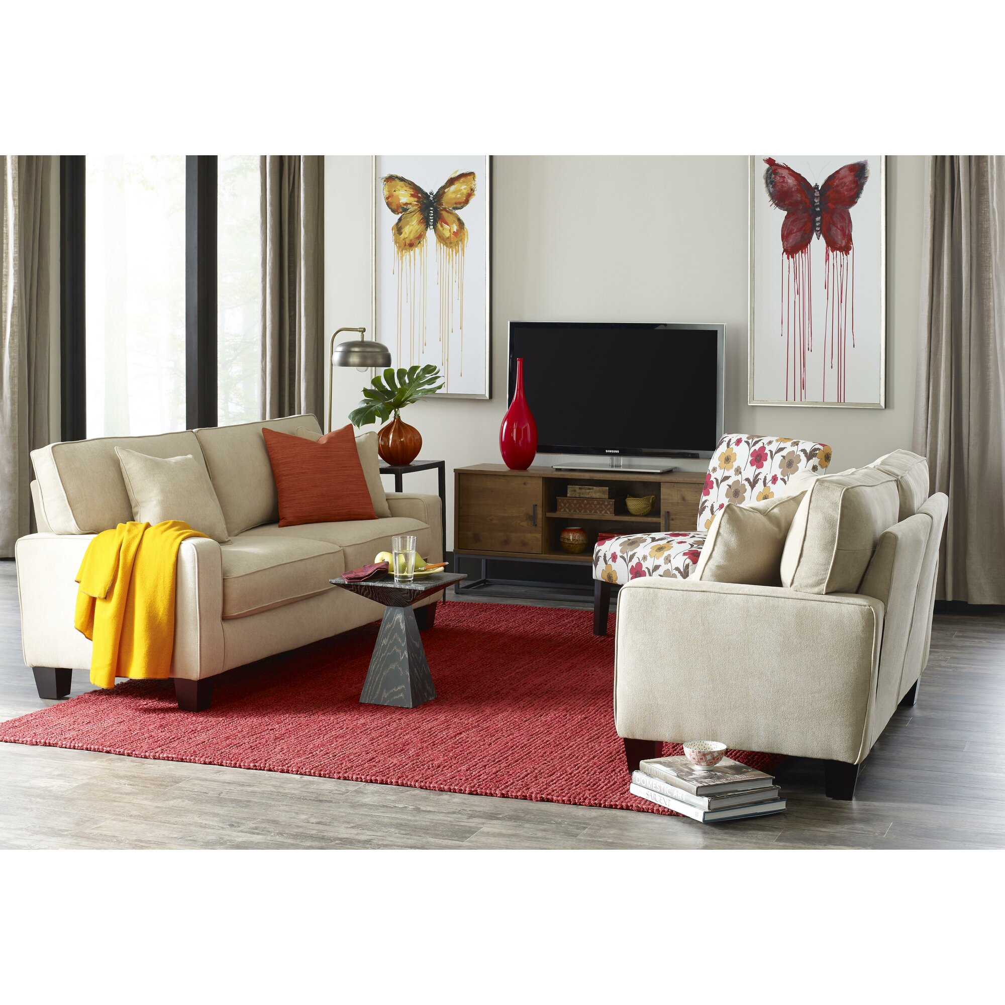 Serta at home palisades living room collection Serta upholstery living room collection