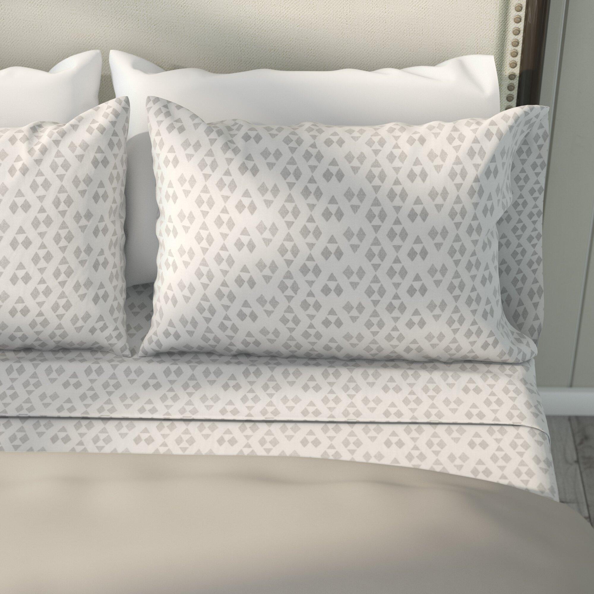 modern sheet set - laurel foundry modern farmhouse mosley cotton sheet set