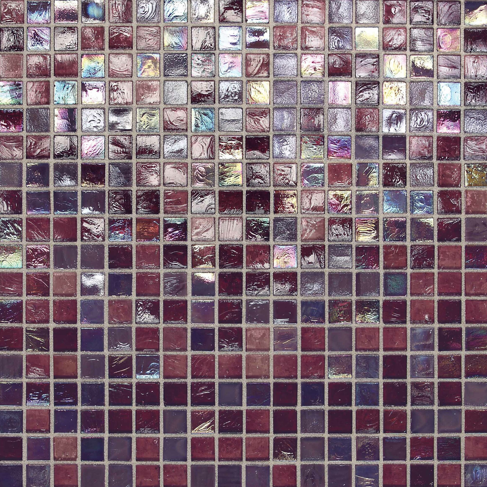 Daltile City Lights 0.5u0026quot; x 0.5u0026quot; Glass Mosaic Tile in Purple u0026 Reviews : Wayfair