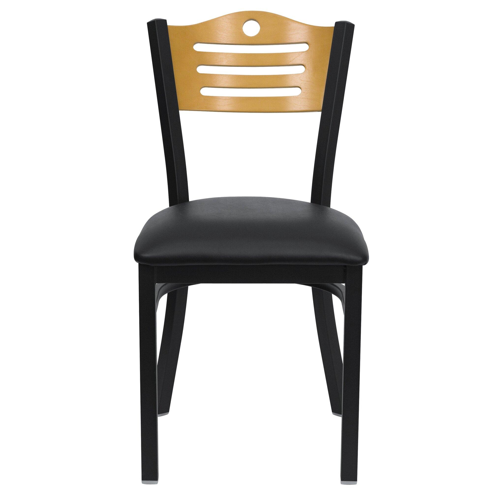Slat Back Kitchen Chairs