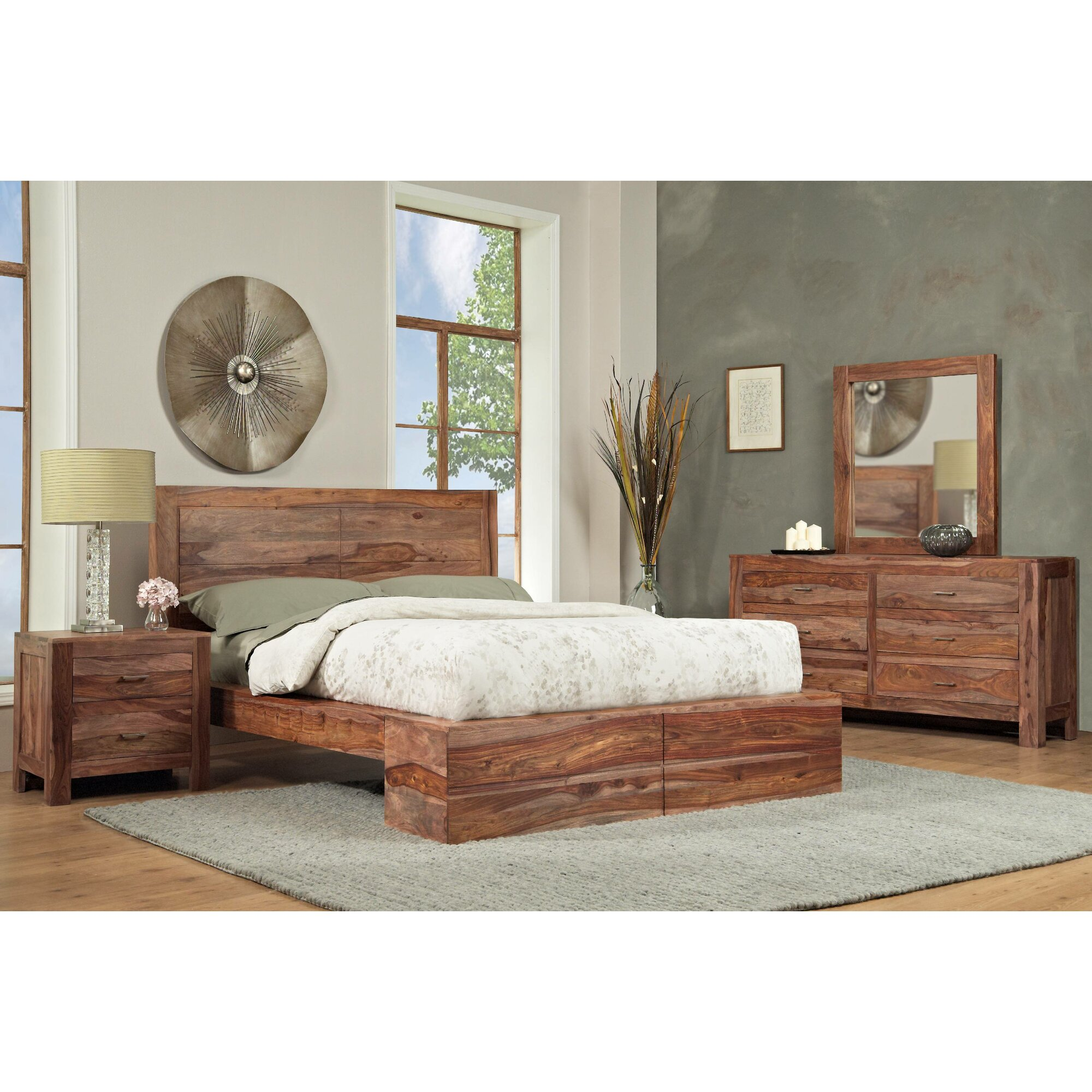 Modus Atria Platform Customizable Bedroom Set & Reviews | Wayfair