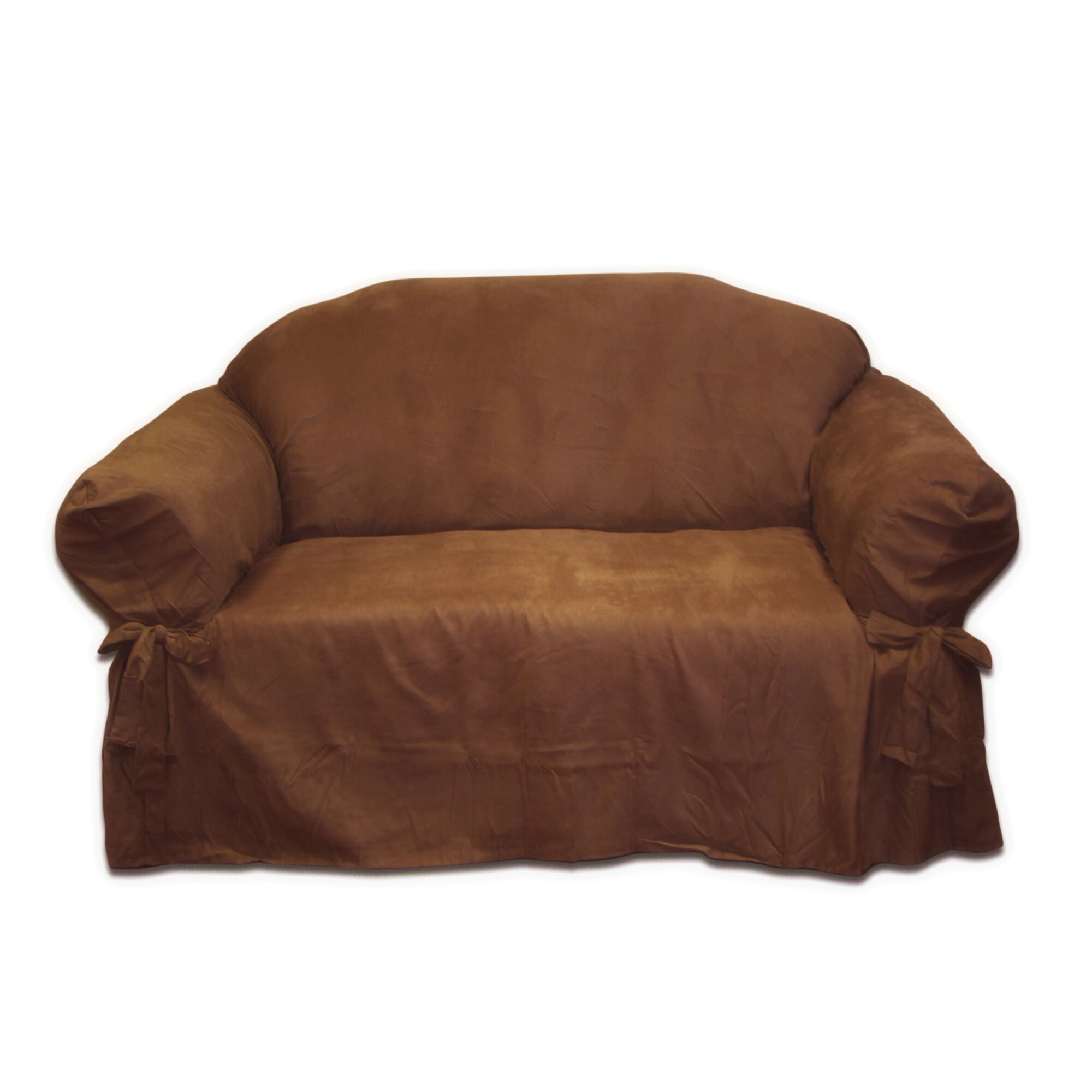 mainstays Faux Suede Loveseat Slipcover 28 Images