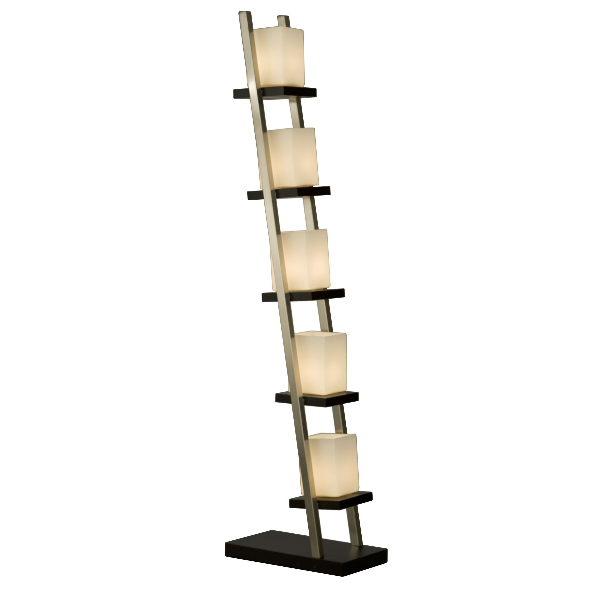 Nova of california escalier 61 column floor lamp for Floor pillars