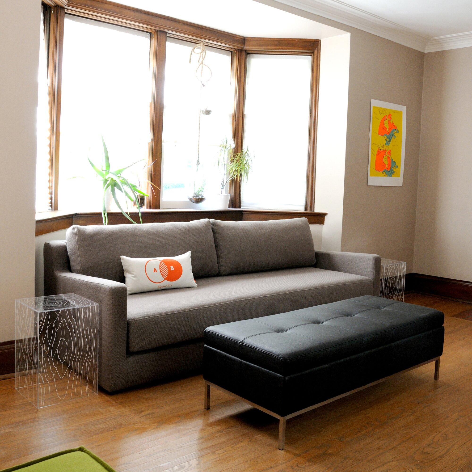 flip sleeper sofa reviews allmodern. Black Bedroom Furniture Sets. Home Design Ideas