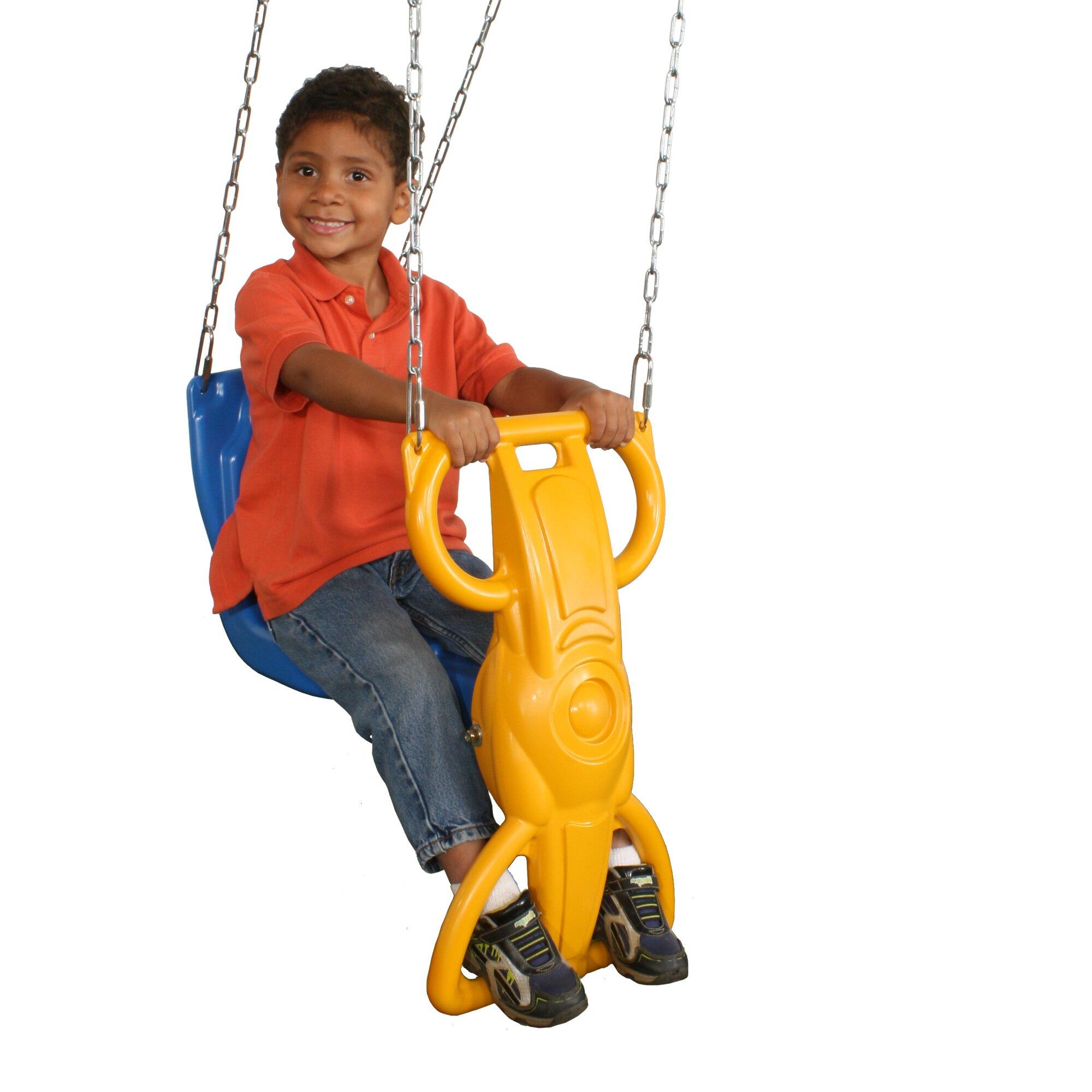 Swing-n-Slide Wind Rider Glider Swing & Reviews | Wayfair