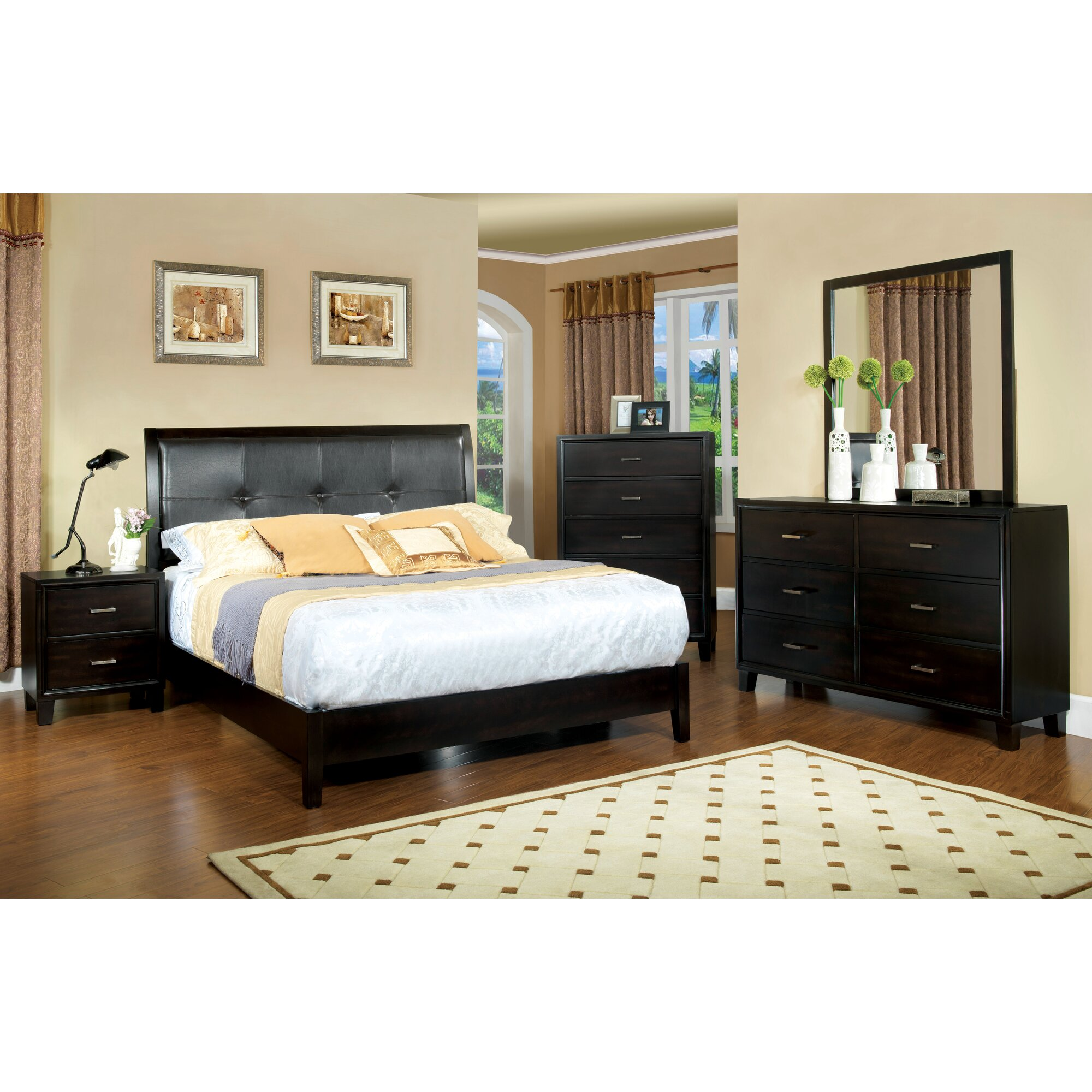 hokku designs laguna platform customizable bedroom set