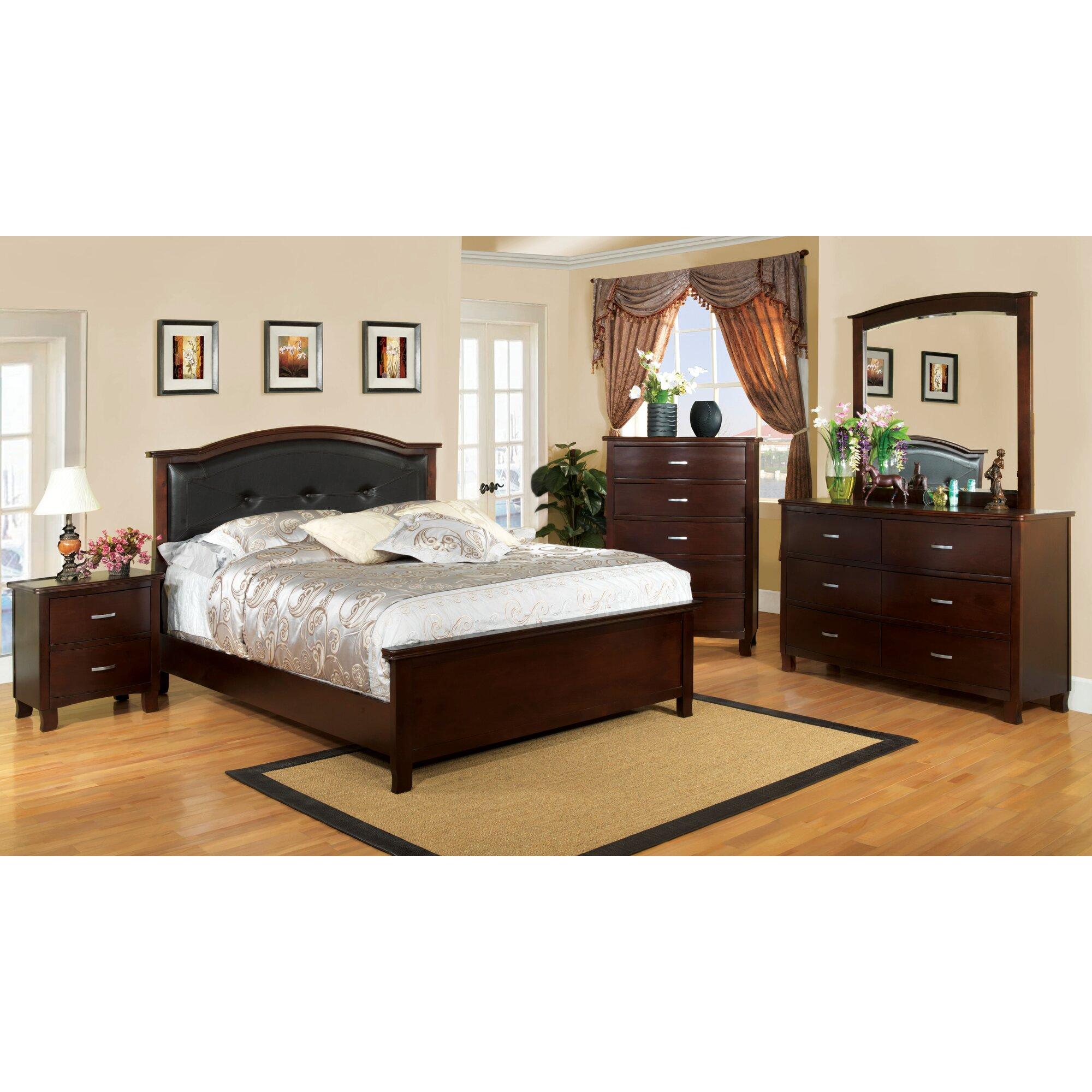 Hokku designs preston panel customizable bedroom set reviews wayfair Bedroom furniture preston