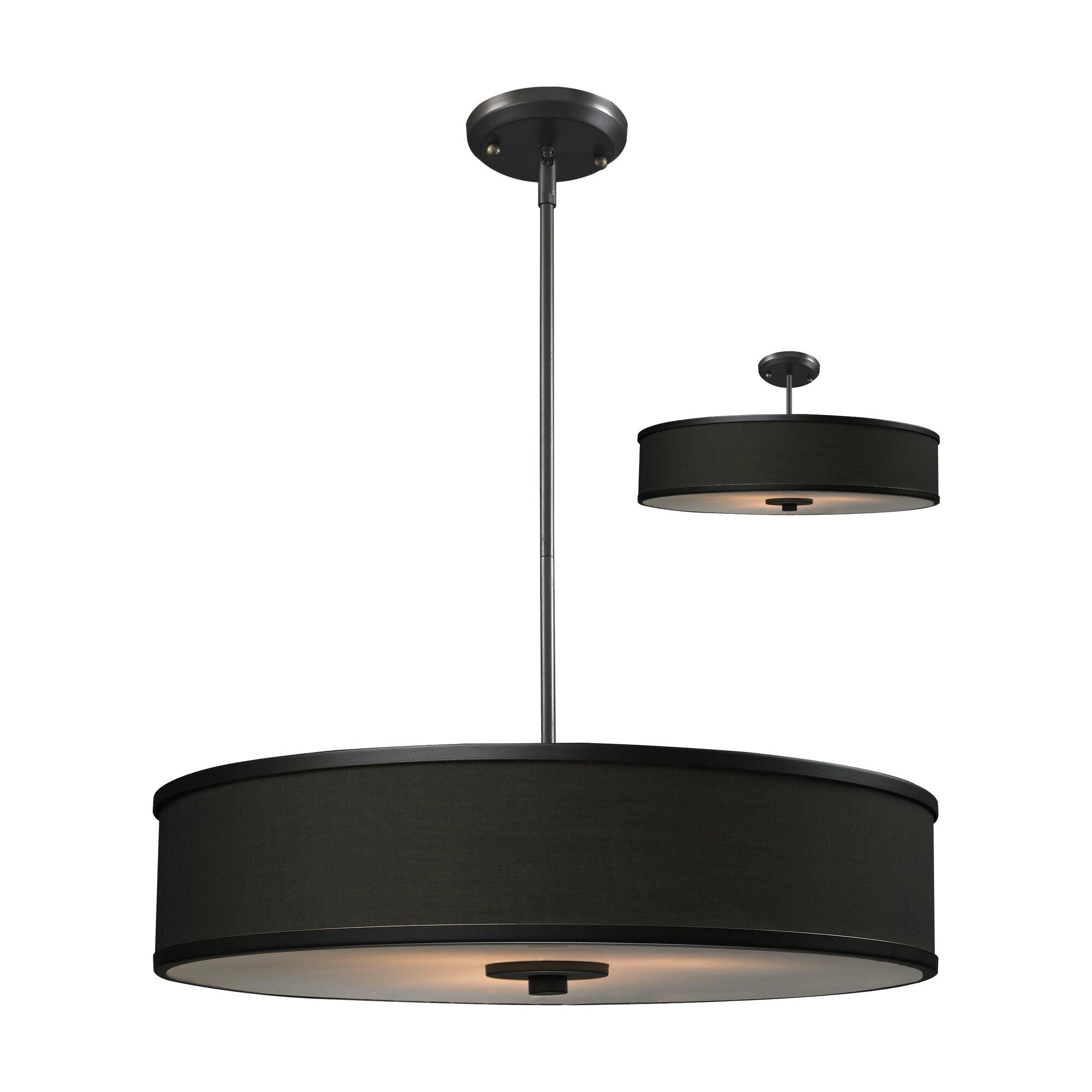 Large Foyer Drum Pendant : Z lite cameo convertible light drum foyer pendant