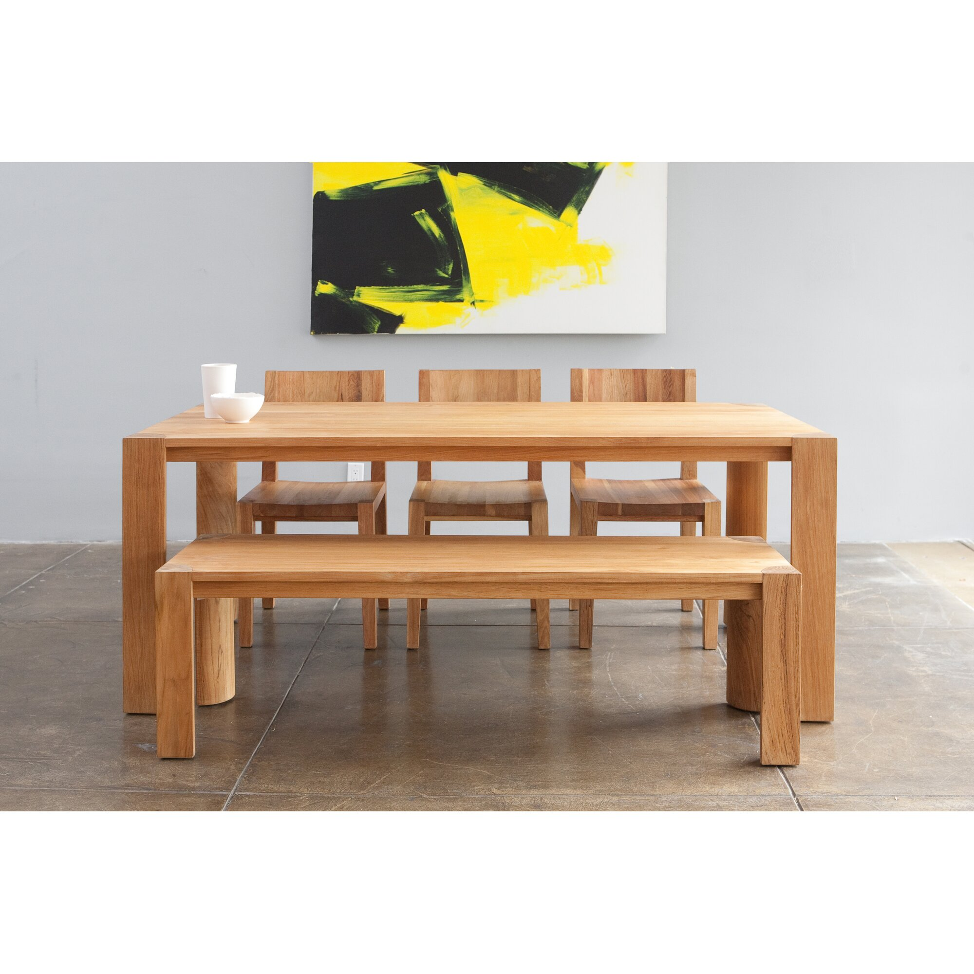 Pchseries dining table allmodern for Serie a table 1984 85