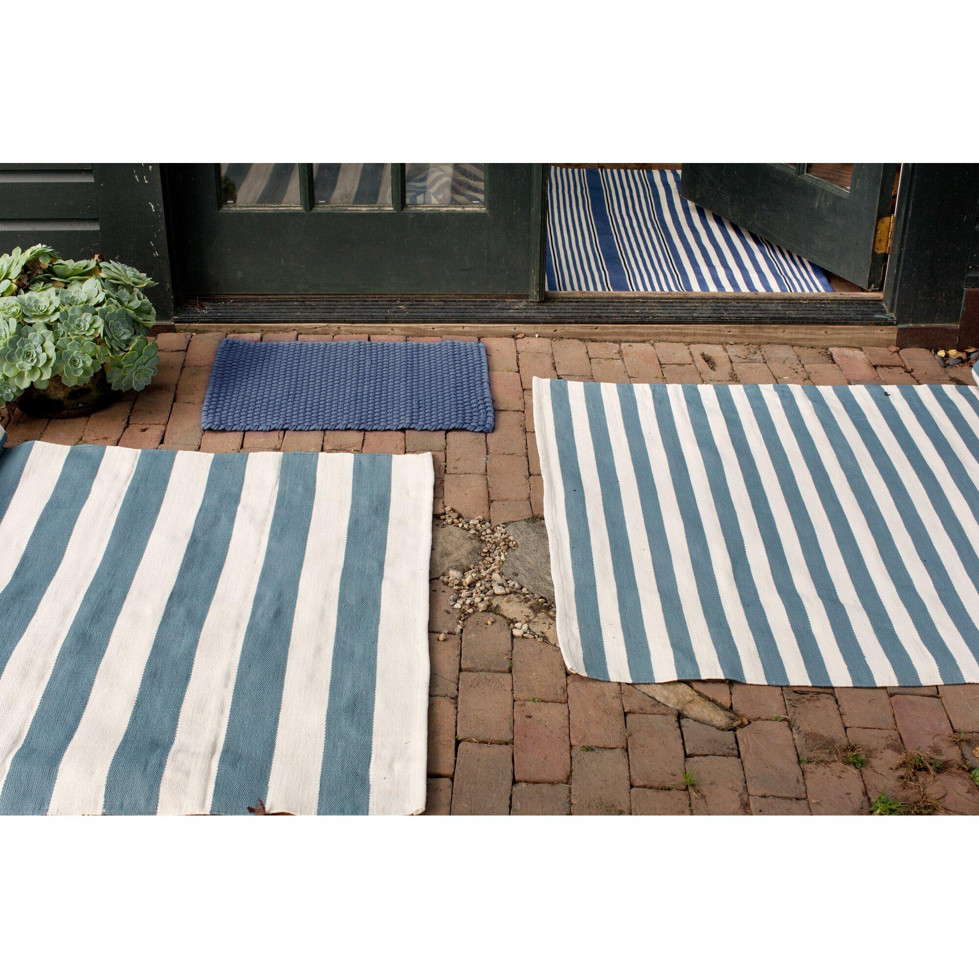 Dash and Albert Rugs Indoor Outdoor Blue Outdoor Area Rug