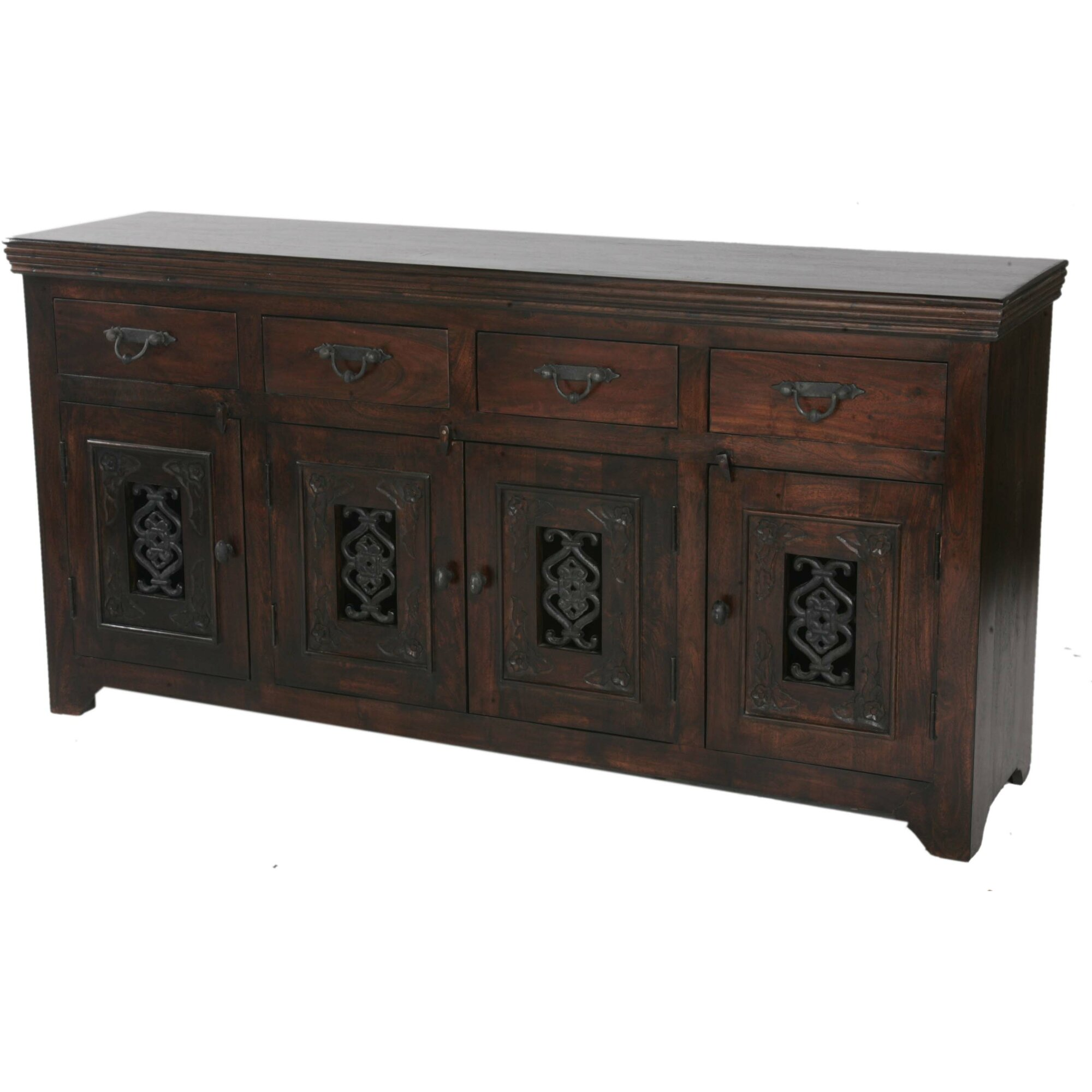 moti furniture jali sideboard reviews wayfair. Black Bedroom Furniture Sets. Home Design Ideas