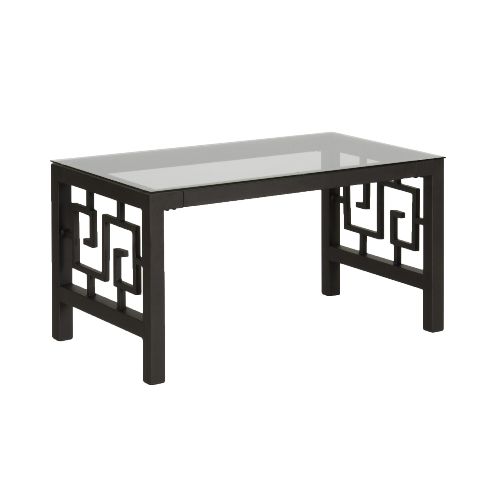 In Style Furnishings Greek Key Coffee Table Set & Reviews
