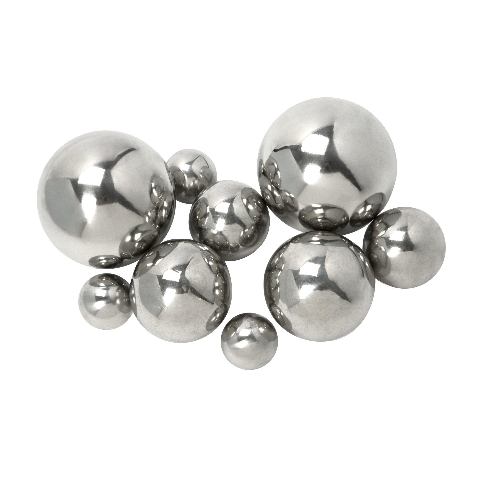 9 piece abbot ball decor set reviews joss main for Decor 9 iball