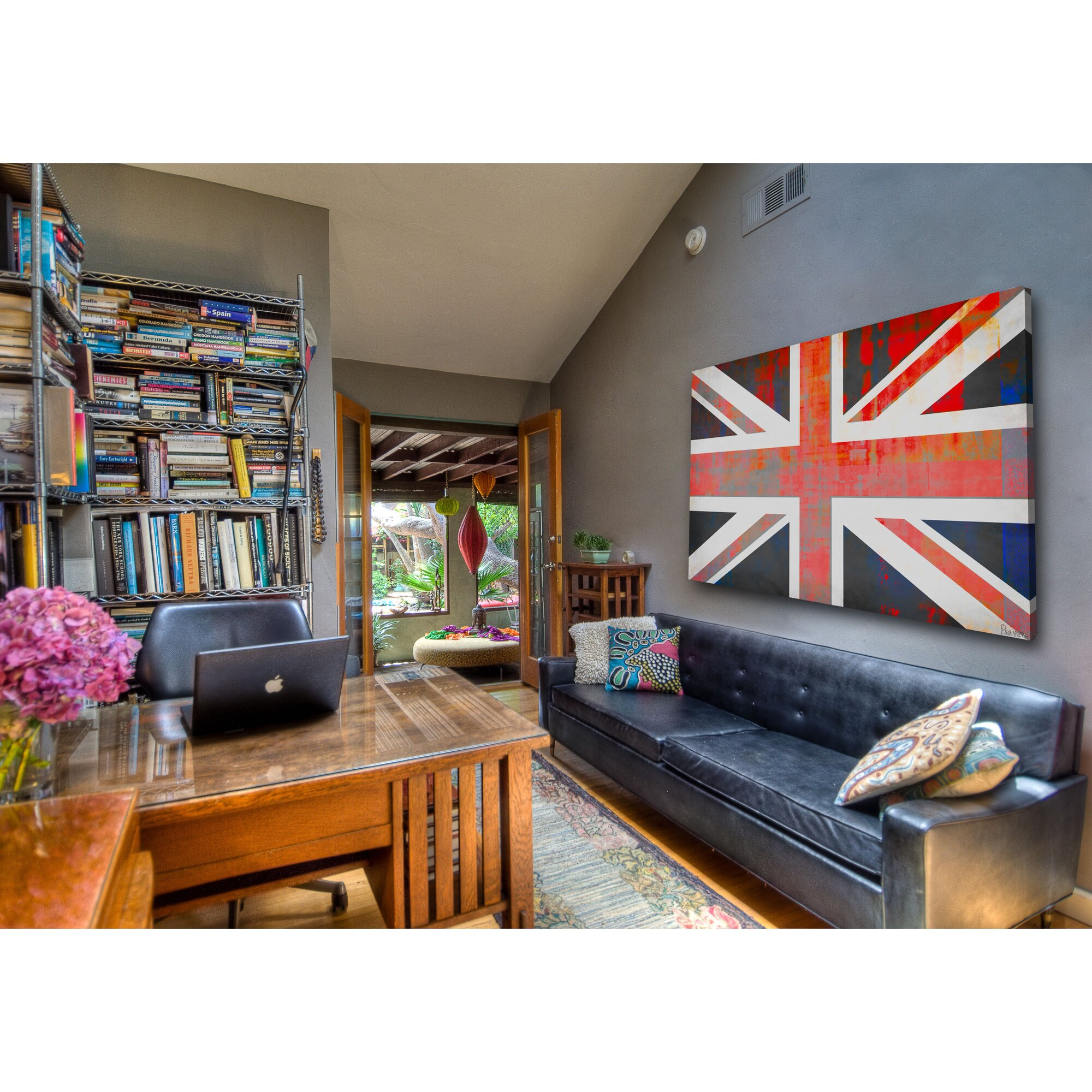 39union jack39 by parvez taj painting print on wrapped With best brand of paint for kitchen cabinets with union jack canvas print wall art