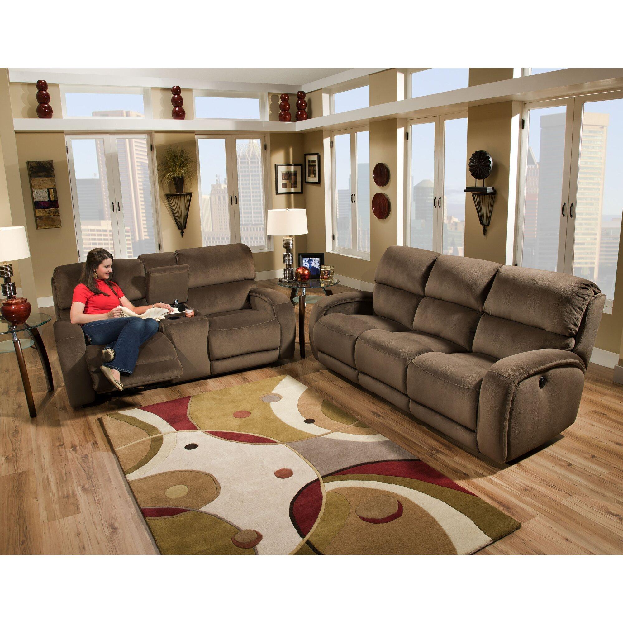 Southern Motion Fandango Double Reclining Sofa & Reviews