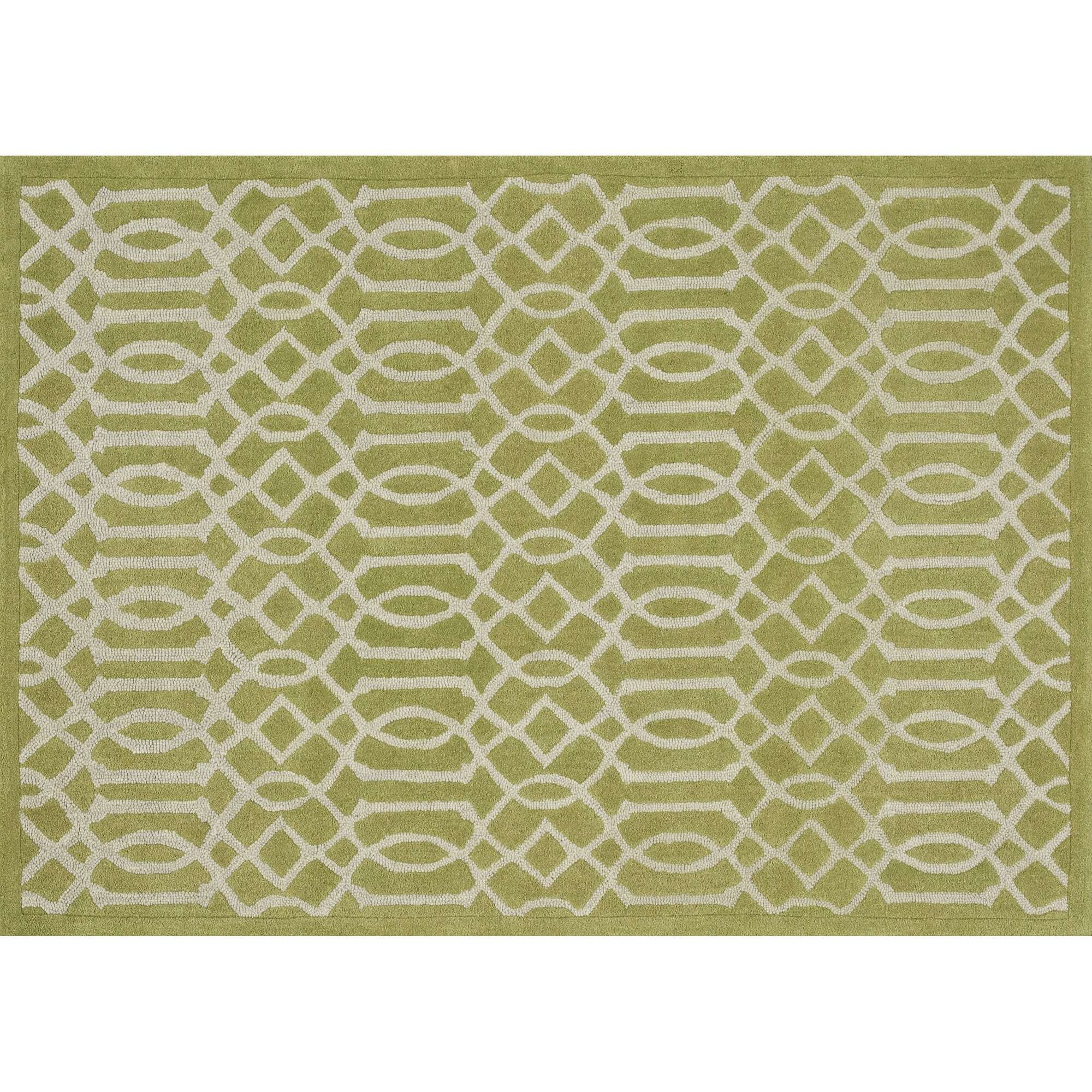 Brighton Hand-Tufted Apple Green Area Rug & Reviews