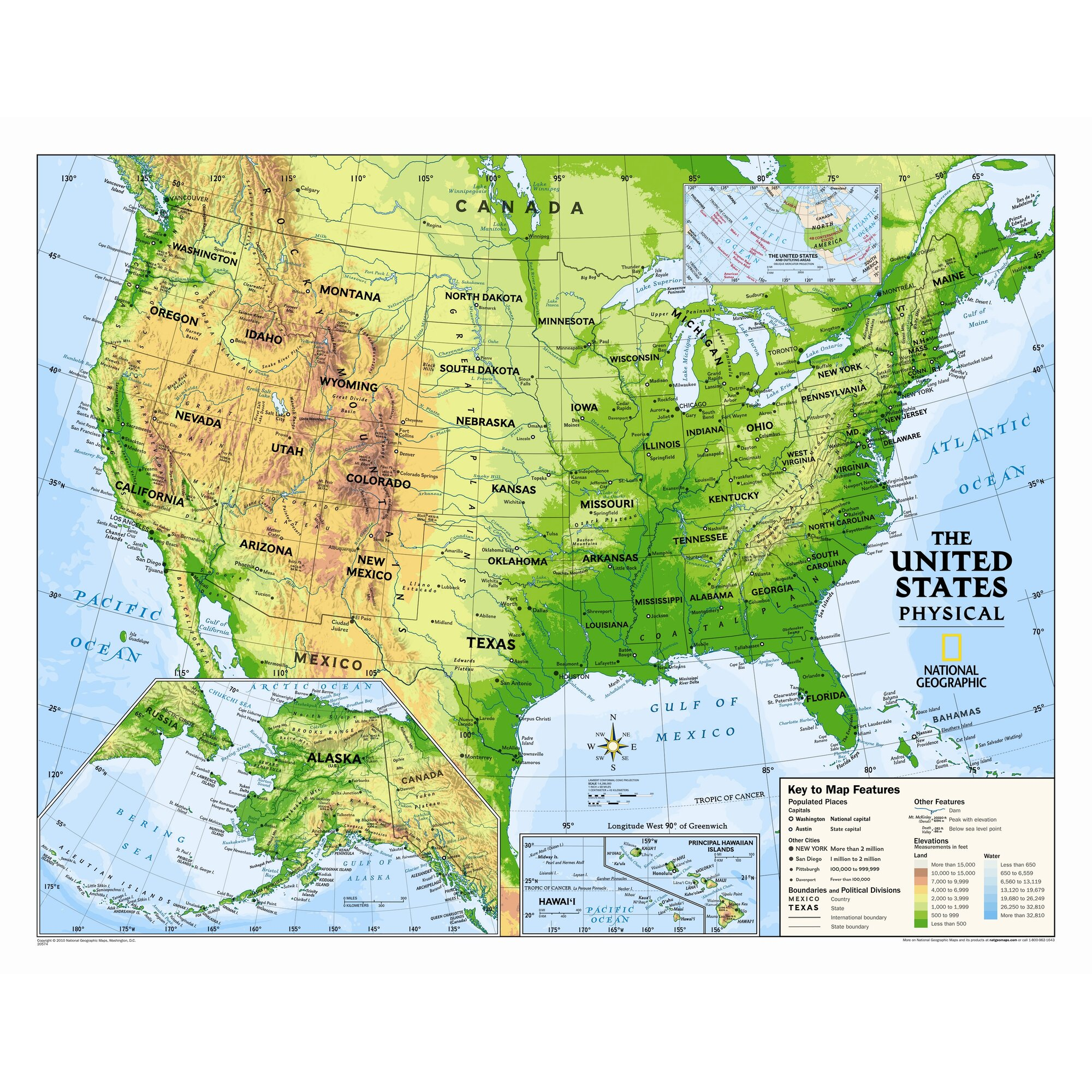 USA Canada Mexico Map Map Canada Usa Mexico States Borders Stock - Map mexico and usa