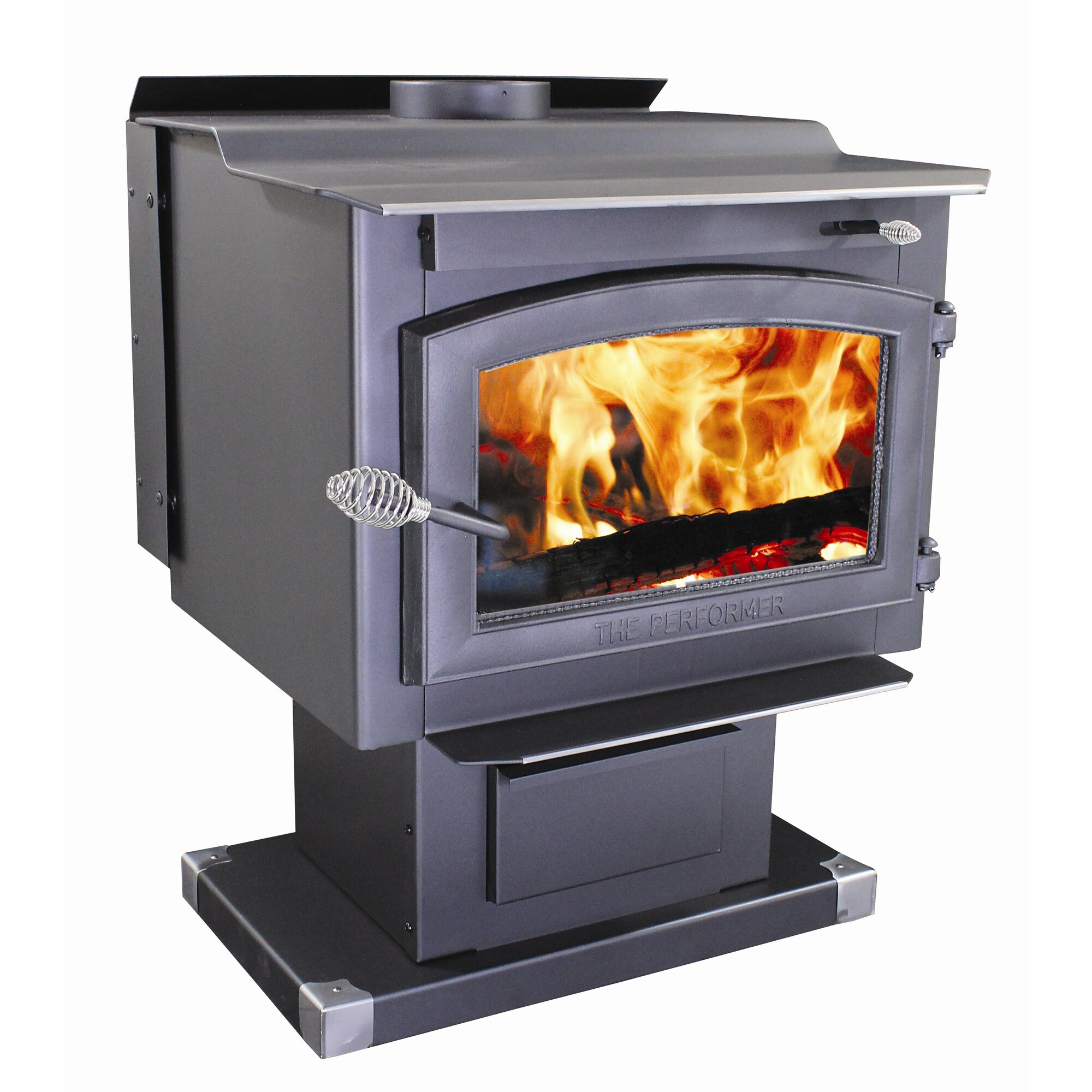 Vogelzang Performer 2,200 sq. ft. Direct Vent Wood Stove & Reviews ...