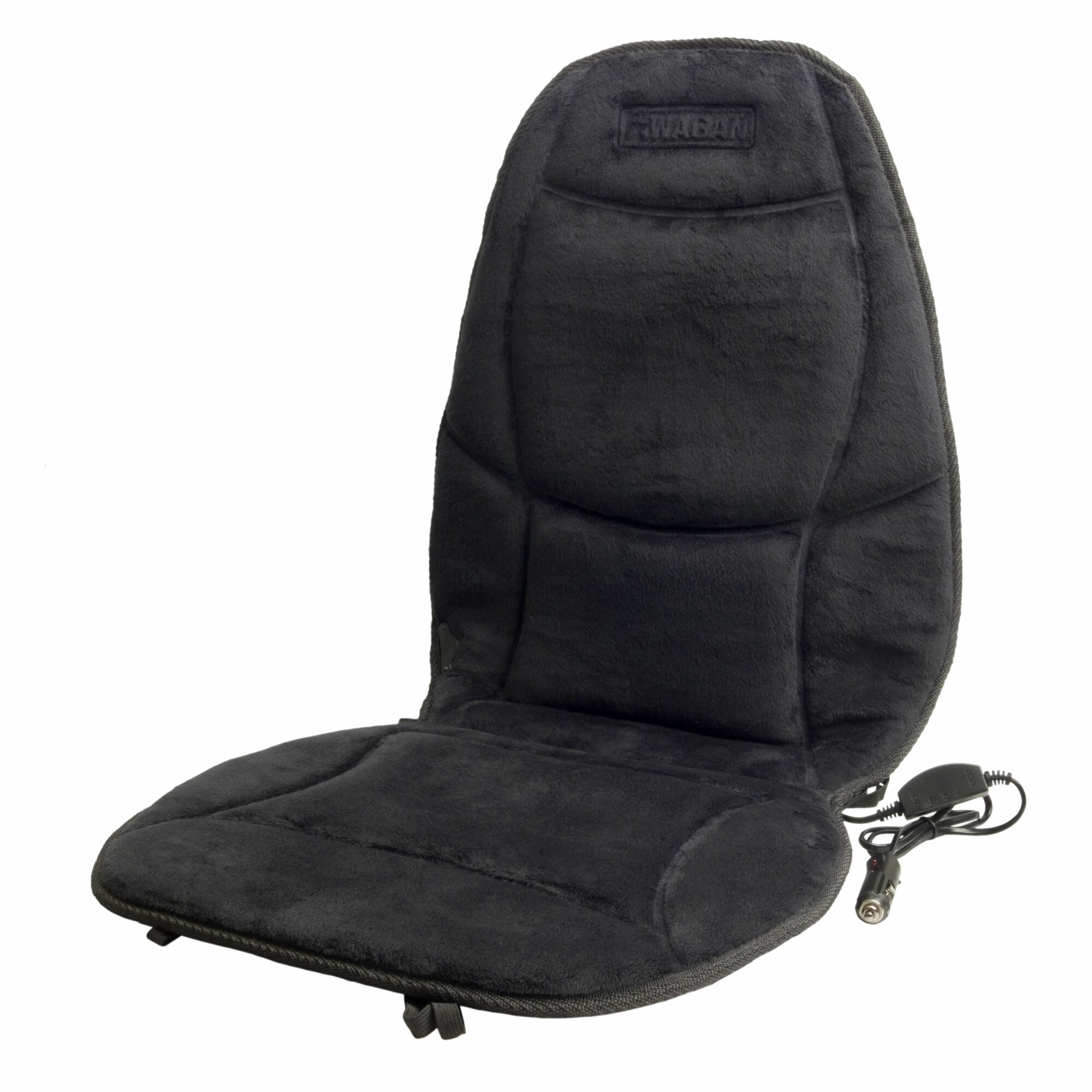Wagan Velour Heated Seat Cushion with Lumbar Support  Reviews