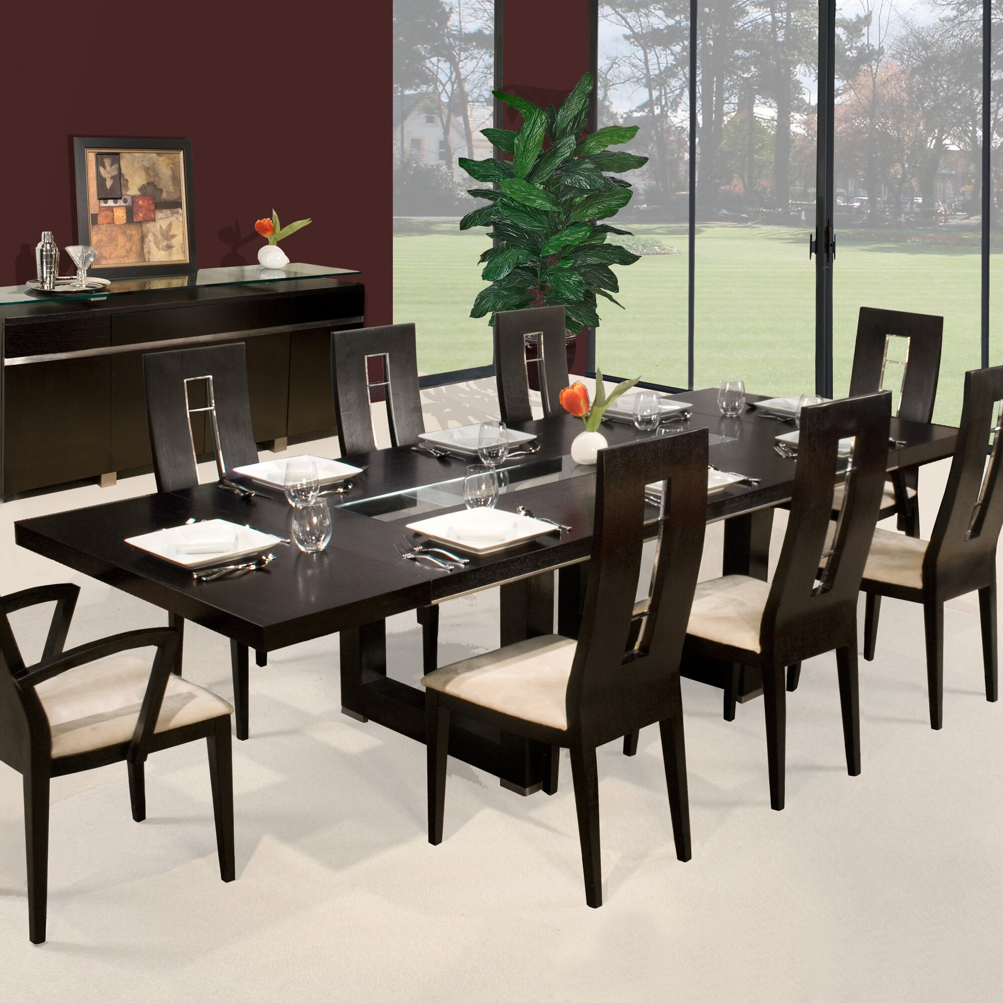 Sharelle Furnishings Novo Dining Table Amp Reviews Wayfair