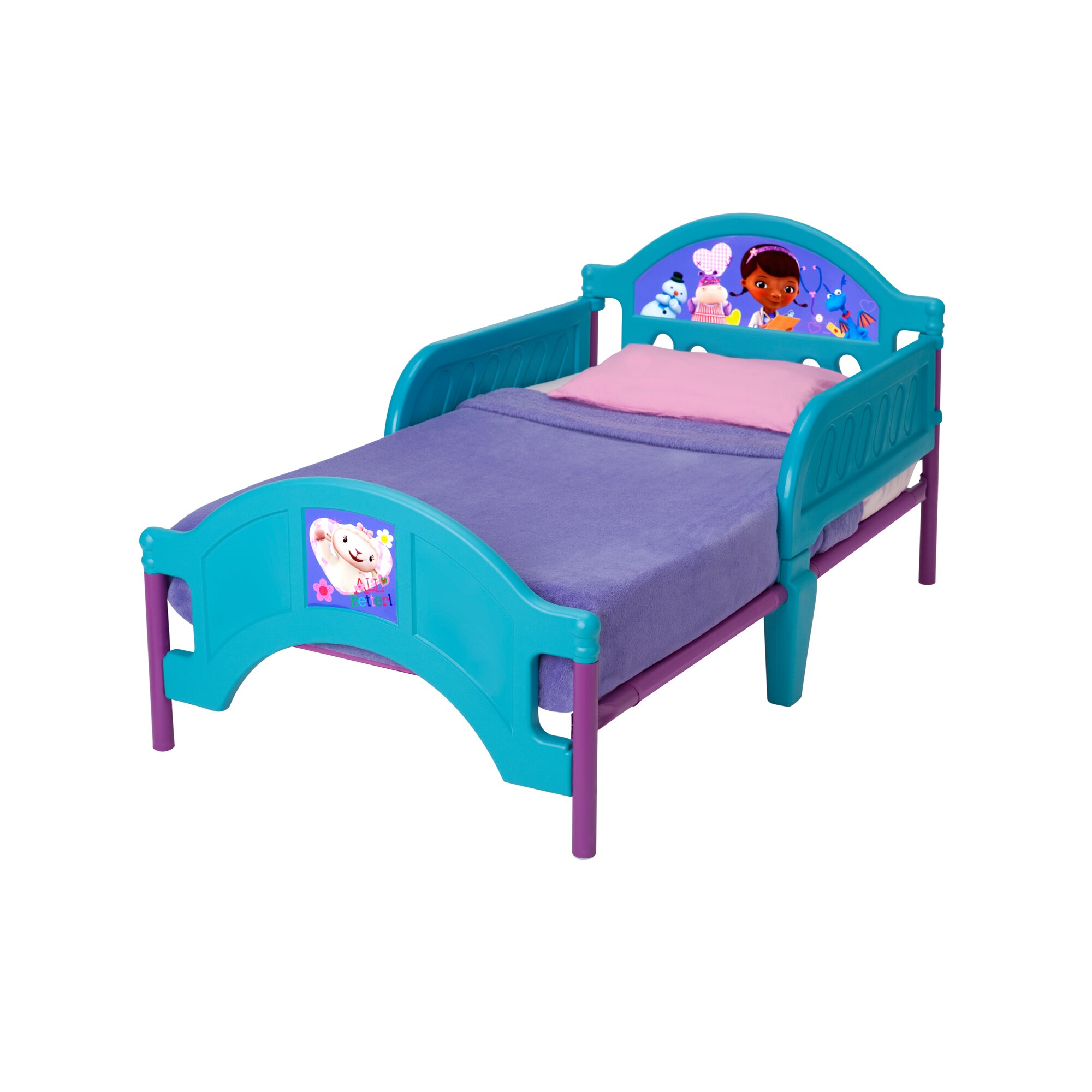 Delta Children Disney Doc McStuffins Convertible Toddler Bed ...