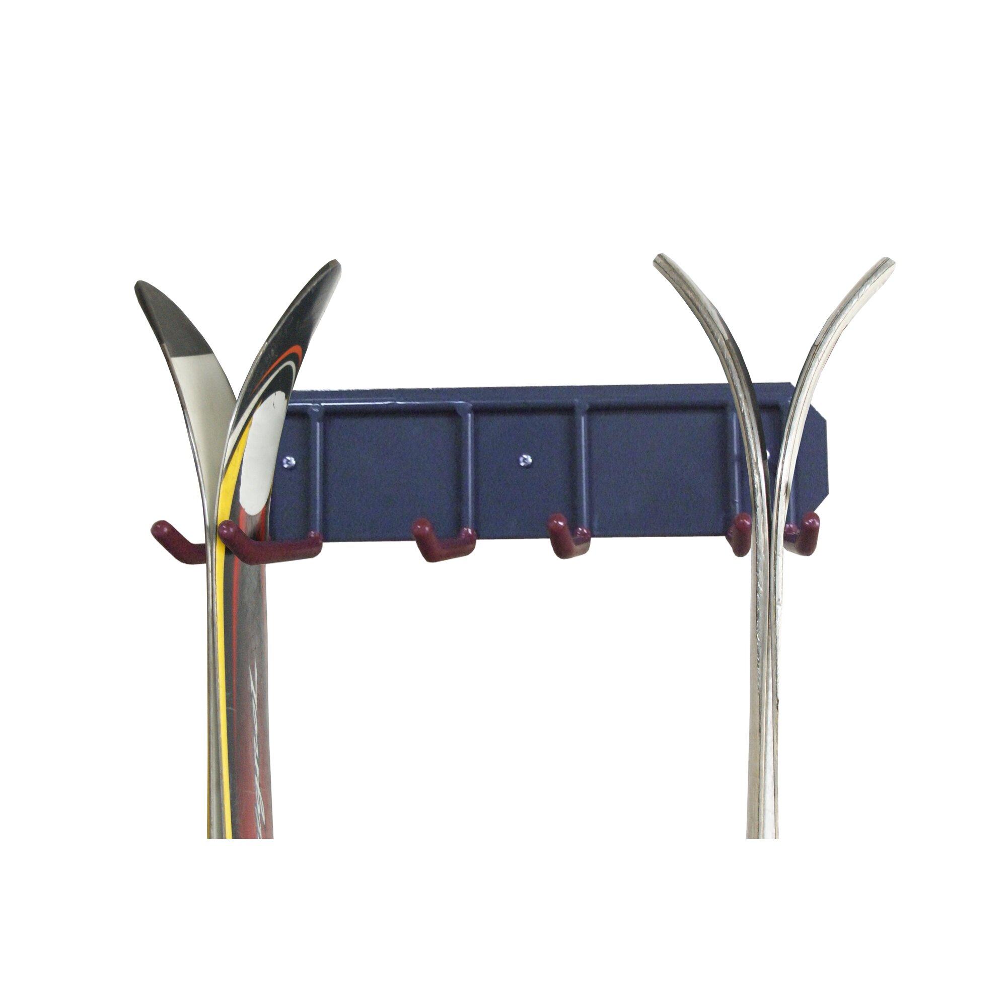 Gear Up Inc 2 Snowboard Or Ski Storage Wall Mounted Rack
