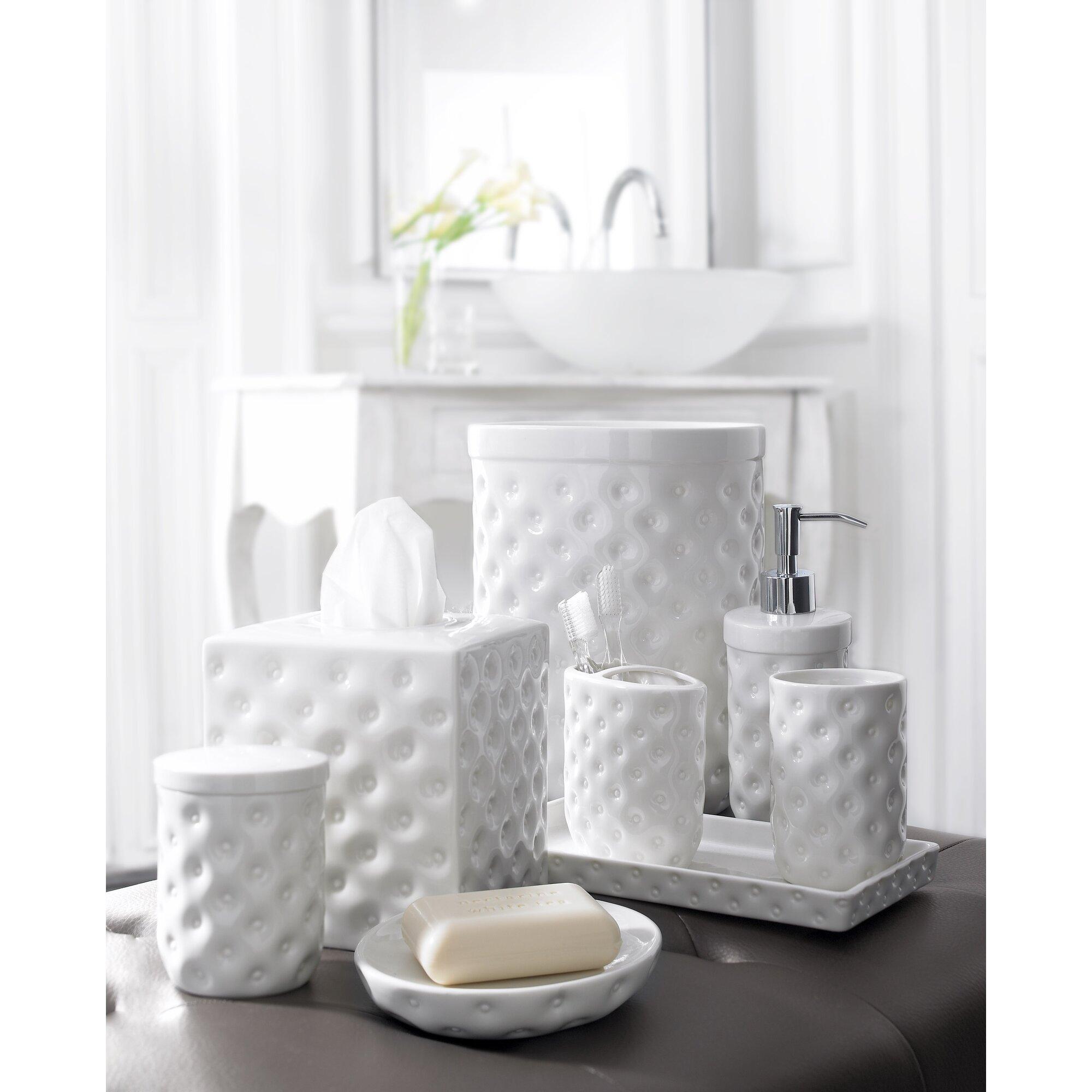 Savoy Collection Bath Accessories Waste Basket