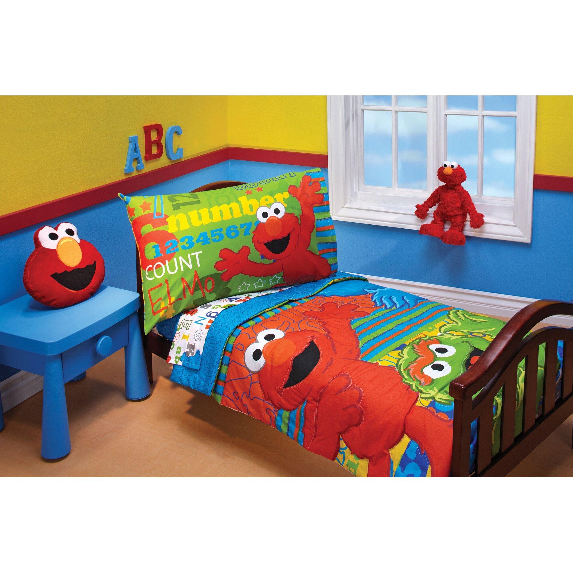 Queen Size Sesame Street Bedding
